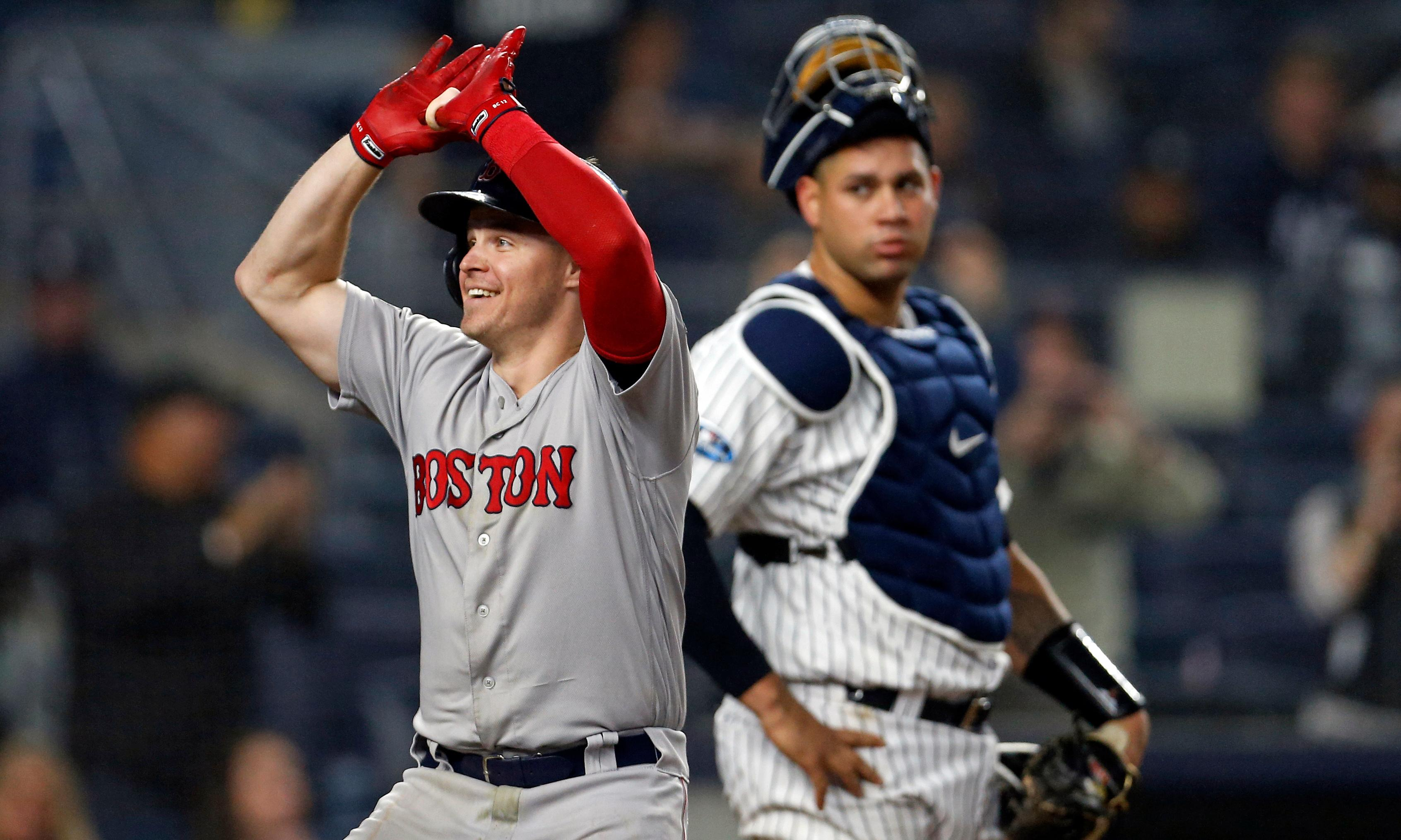 Red Sox inflict record playoff defeat on shellshocked Yankees