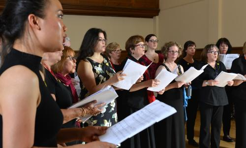 'I feel better for singing': the choir tackling mental health stigma