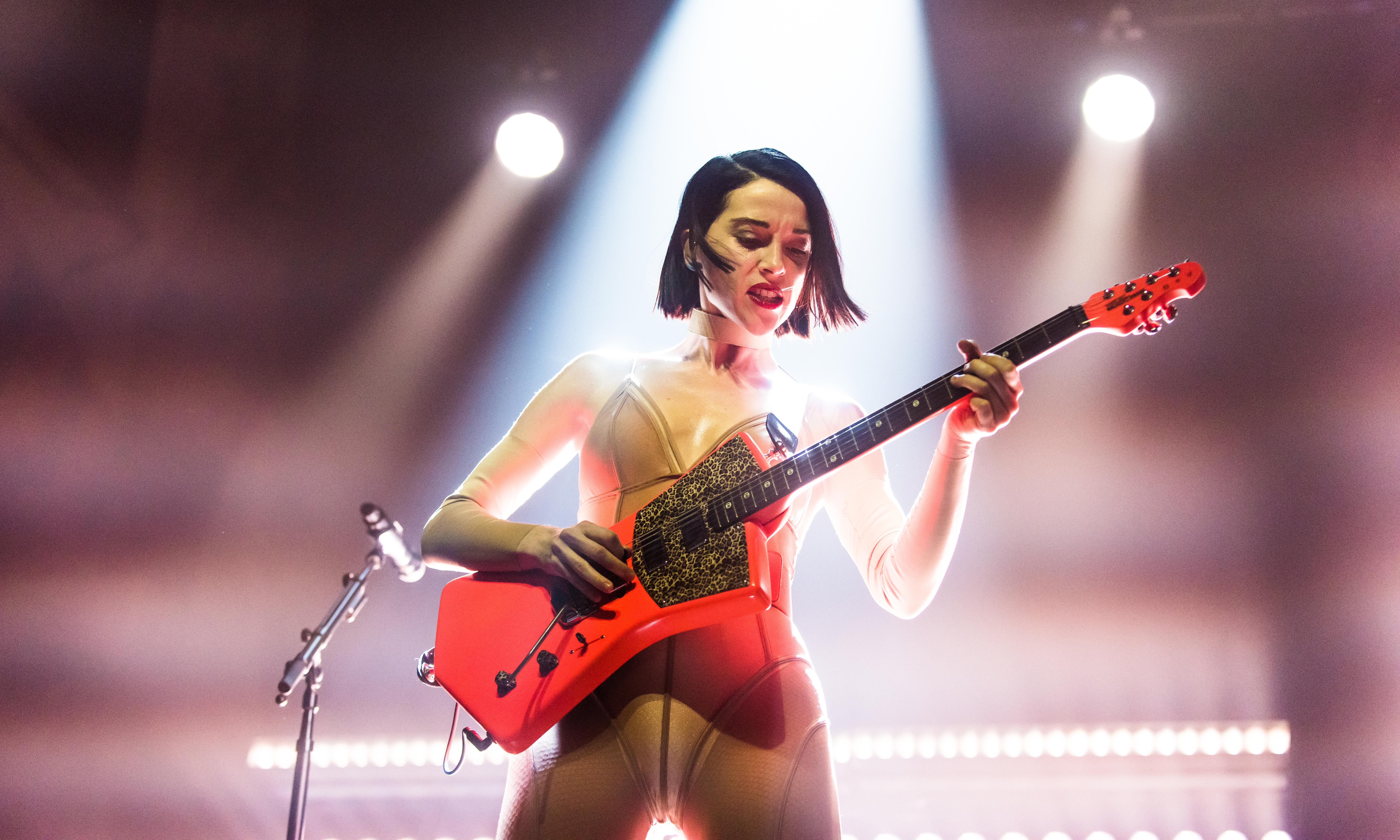 St Vincent review – naked thrills and dark disco