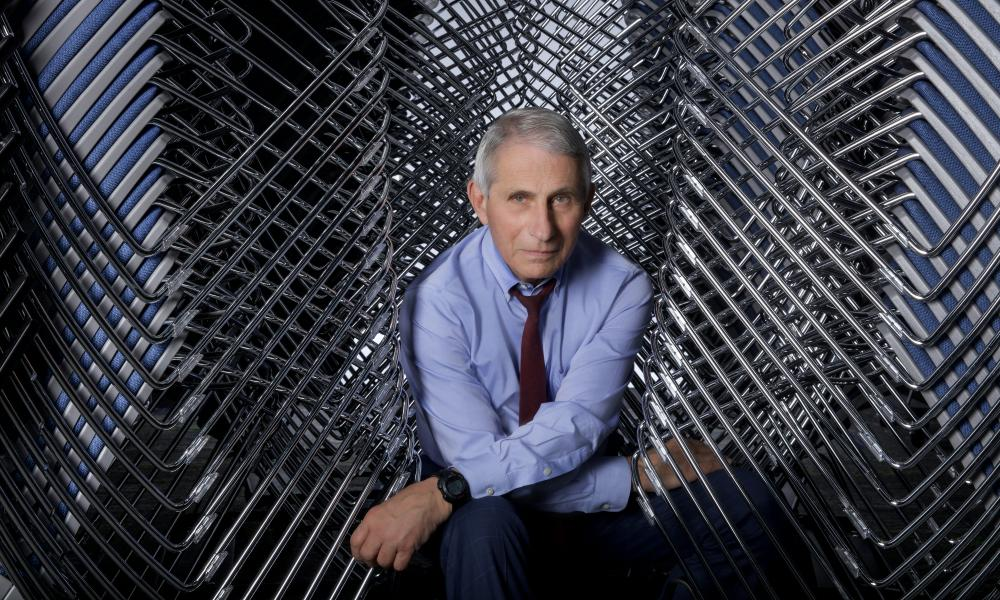 Anthony Fauci at the NIH in Bethesda, Maryland