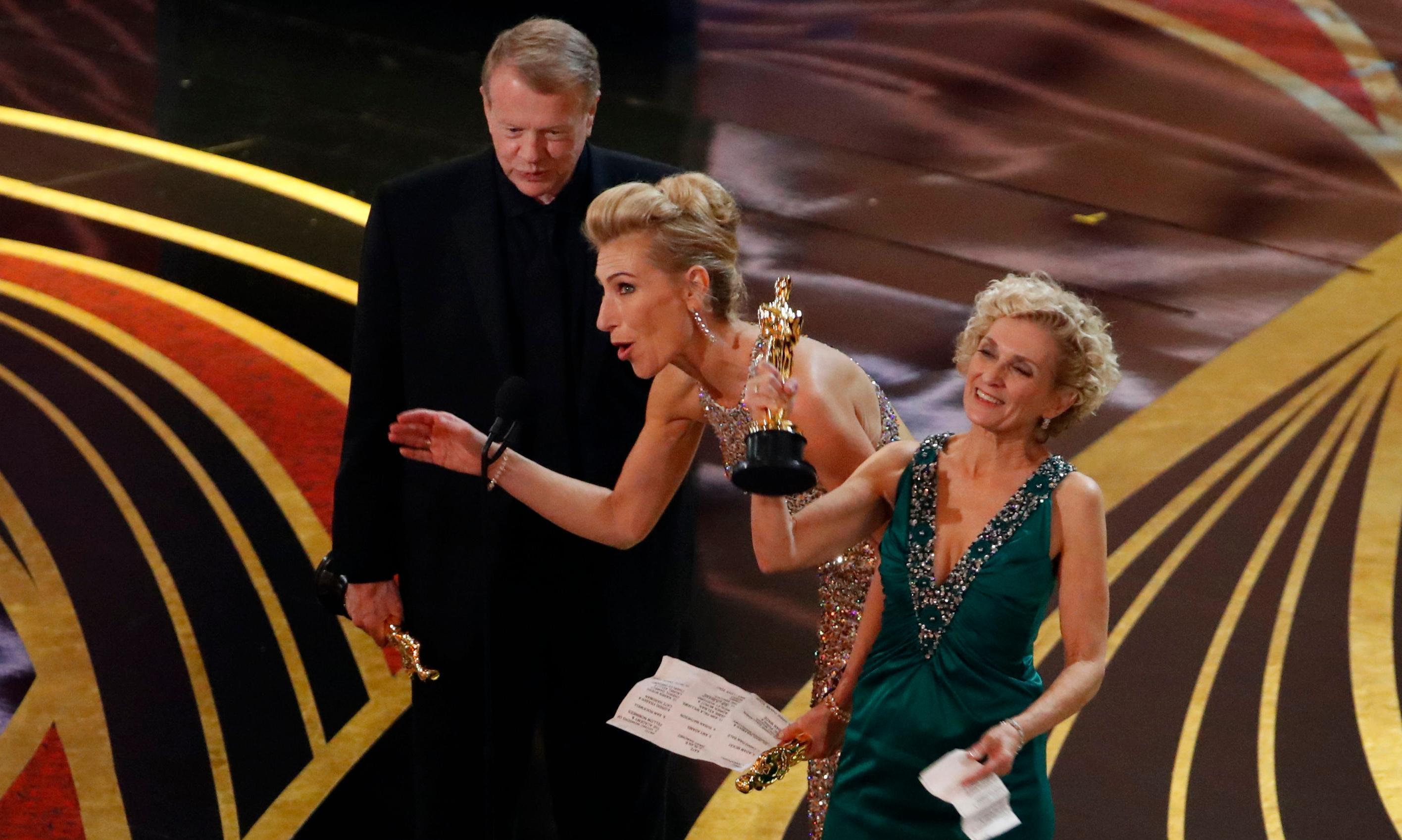 How the Vice make-up team won the Oscar for world's worst speech