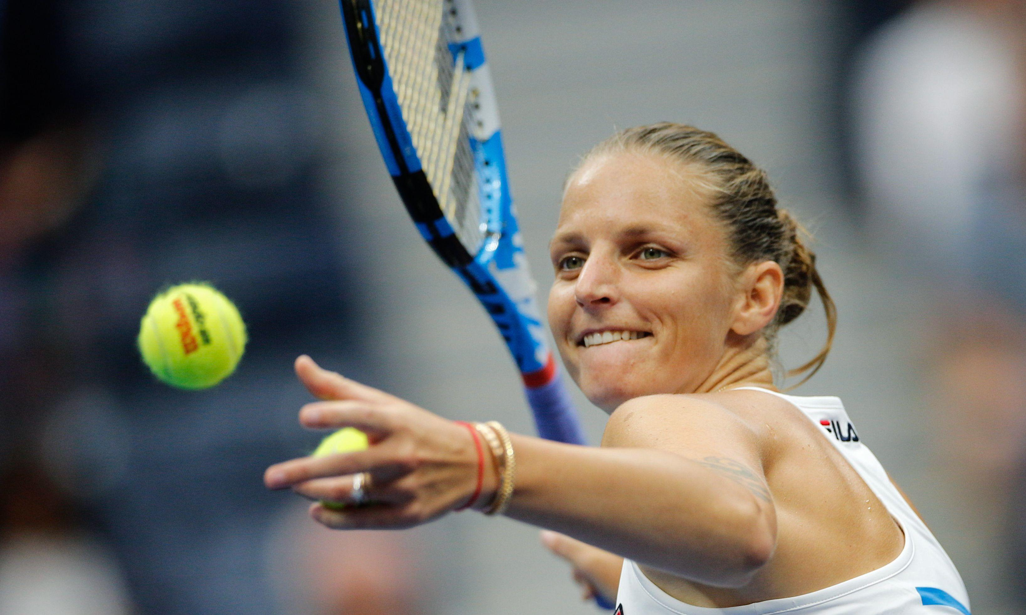 Karolina Pliskova turns on the power to beat Mariam Bolkvadze in US Open