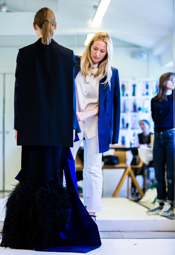 Julie Libran, artistic director at Sonia Rykiel fashion house.