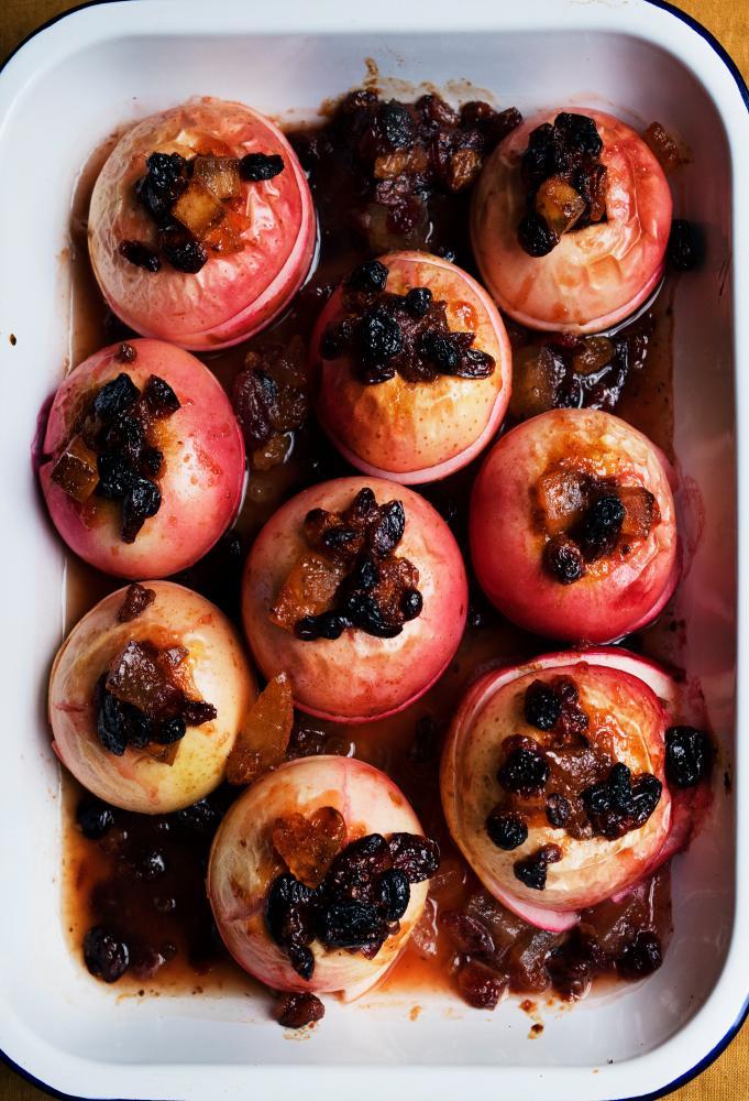 Nigel Slater's baked apples.