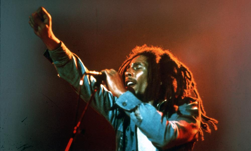 Marley onstage around 1971.