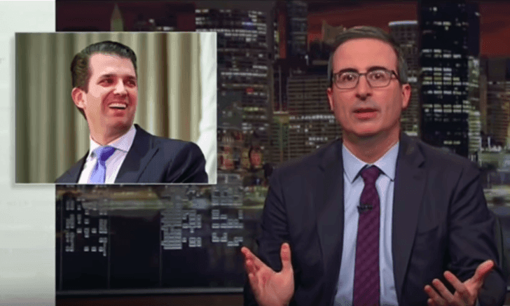 John Oliver on Donald Trump's defence strategy: 'There's so much wrong there'