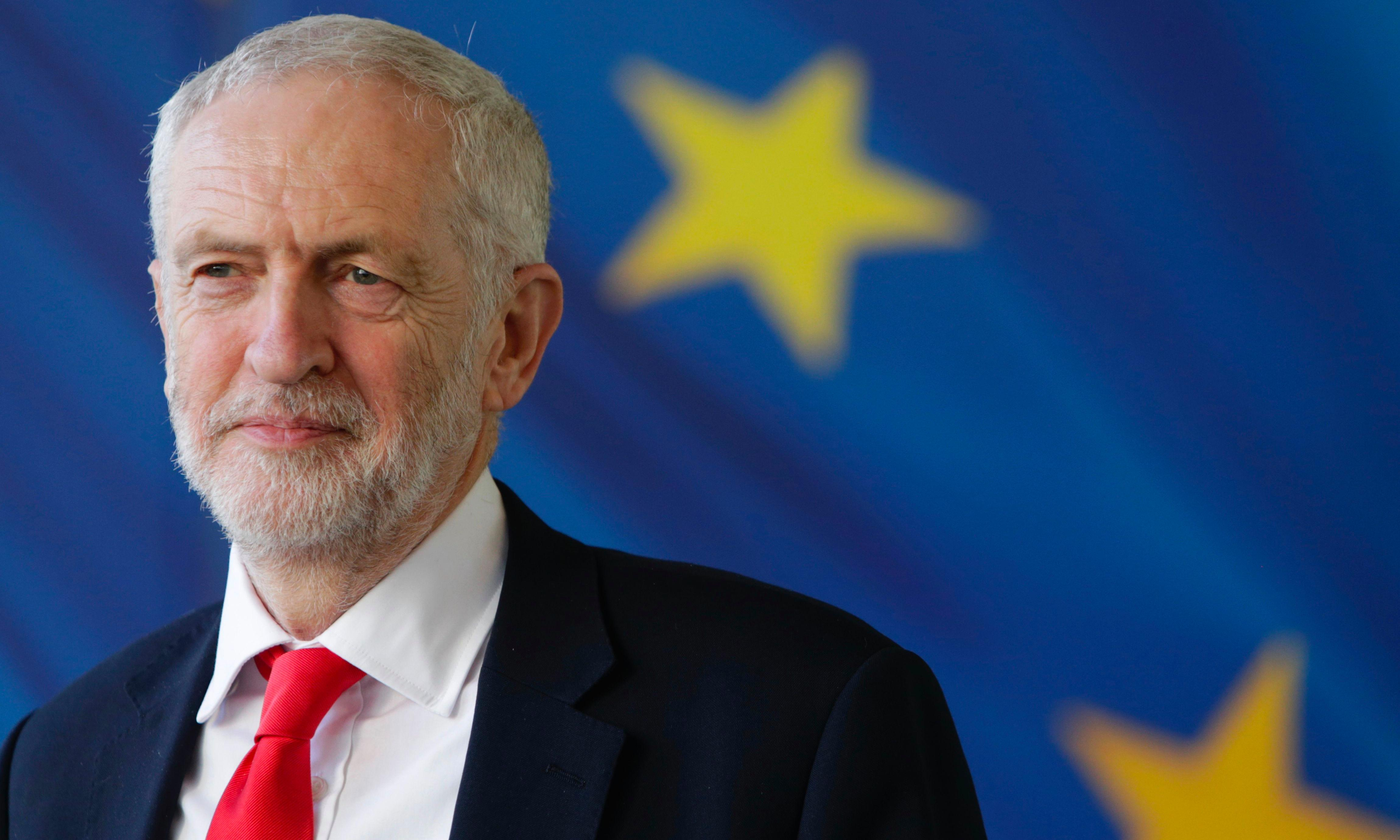Corbyn not ruling out revoking article 50 to avoid no-deal Brexit