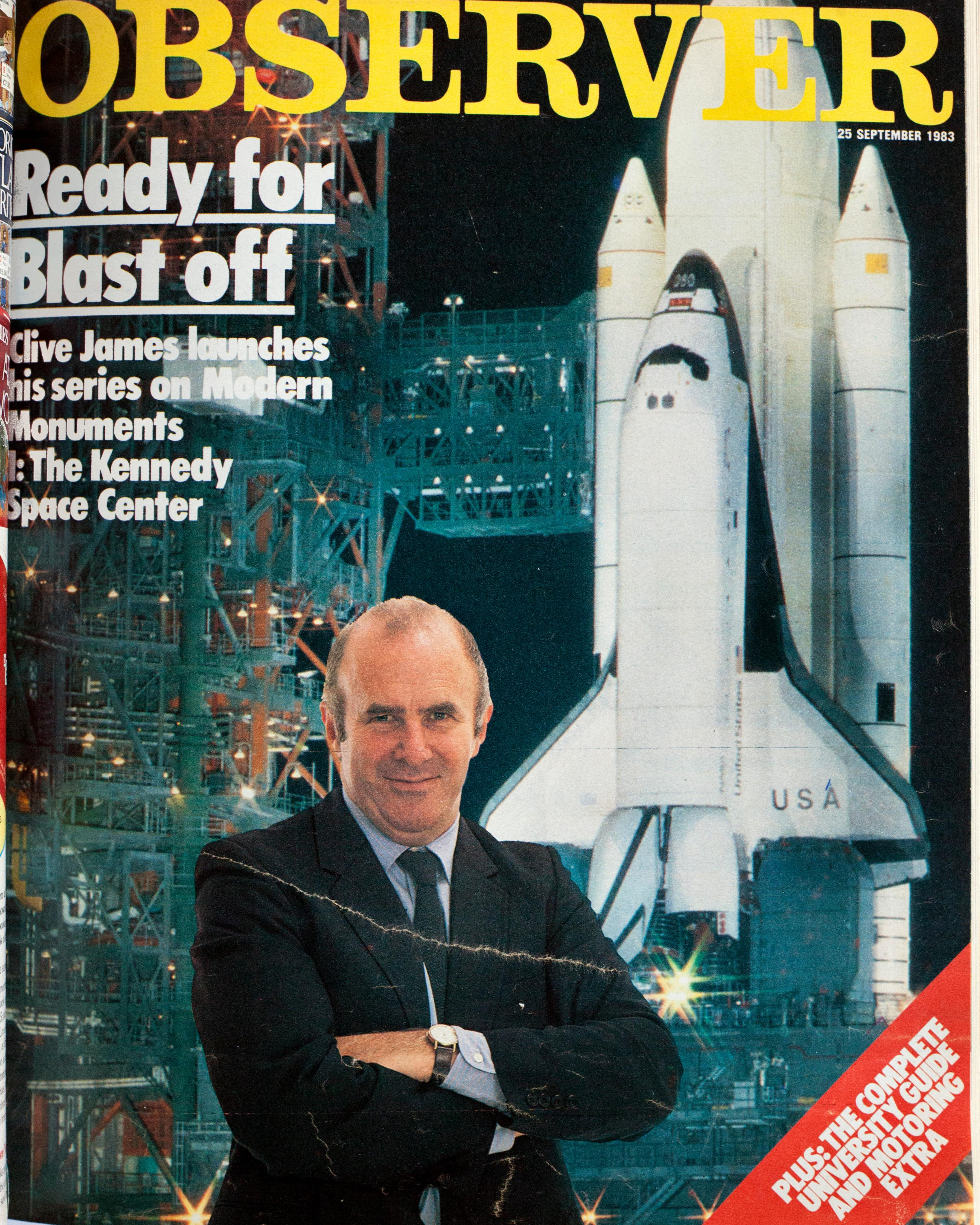 From the archive: Clive James at the Space Center, 1983