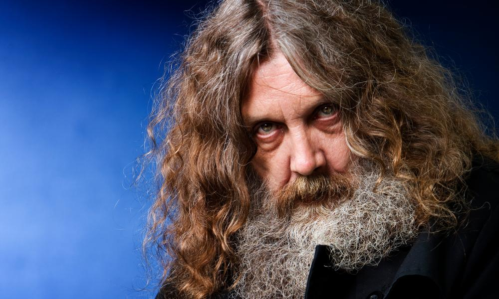 Spiritual visions … author Alan Moore, who meets Higgs on Watling Street.