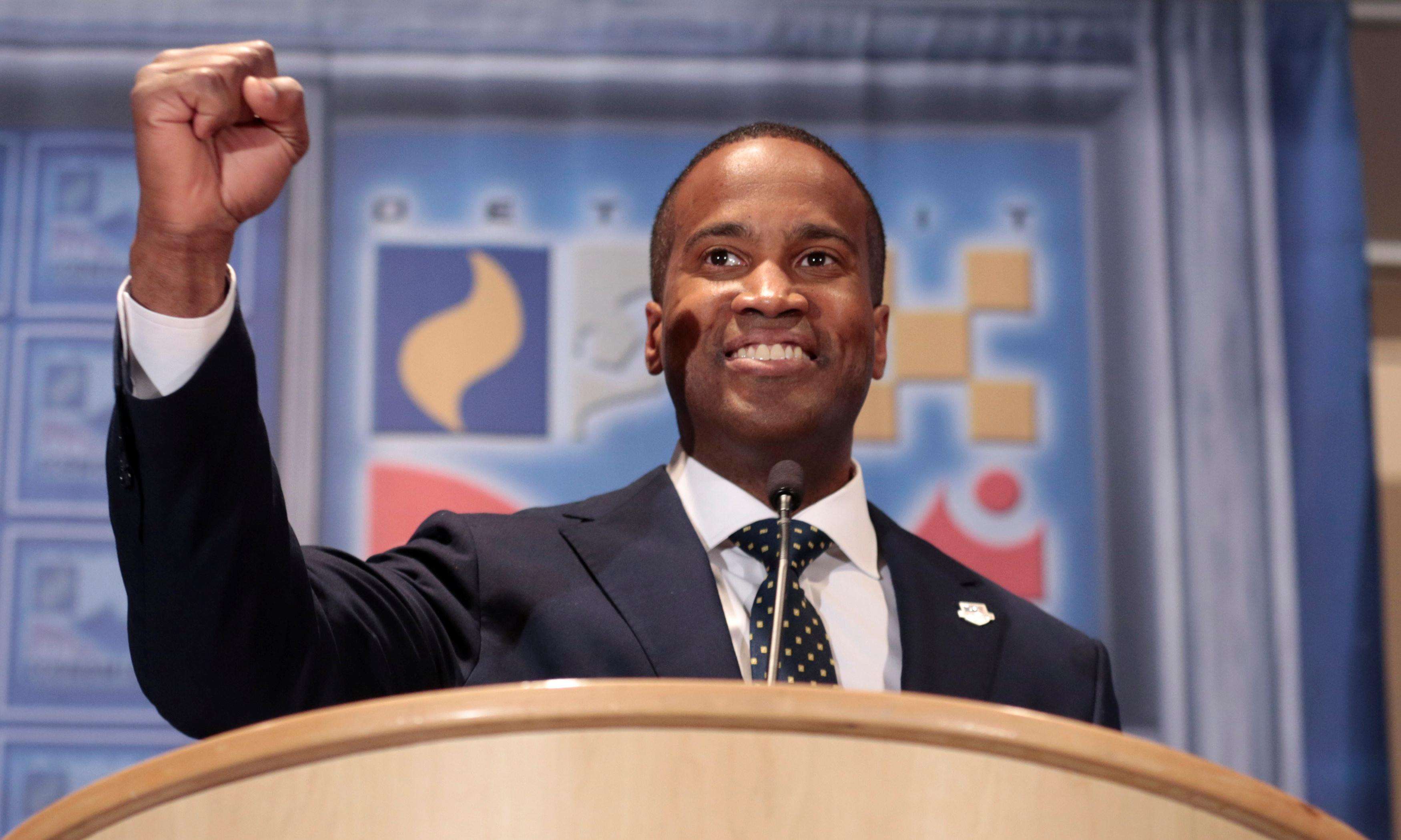 John James: 'Battle-tested, ready to lead' … and a black American for Trump