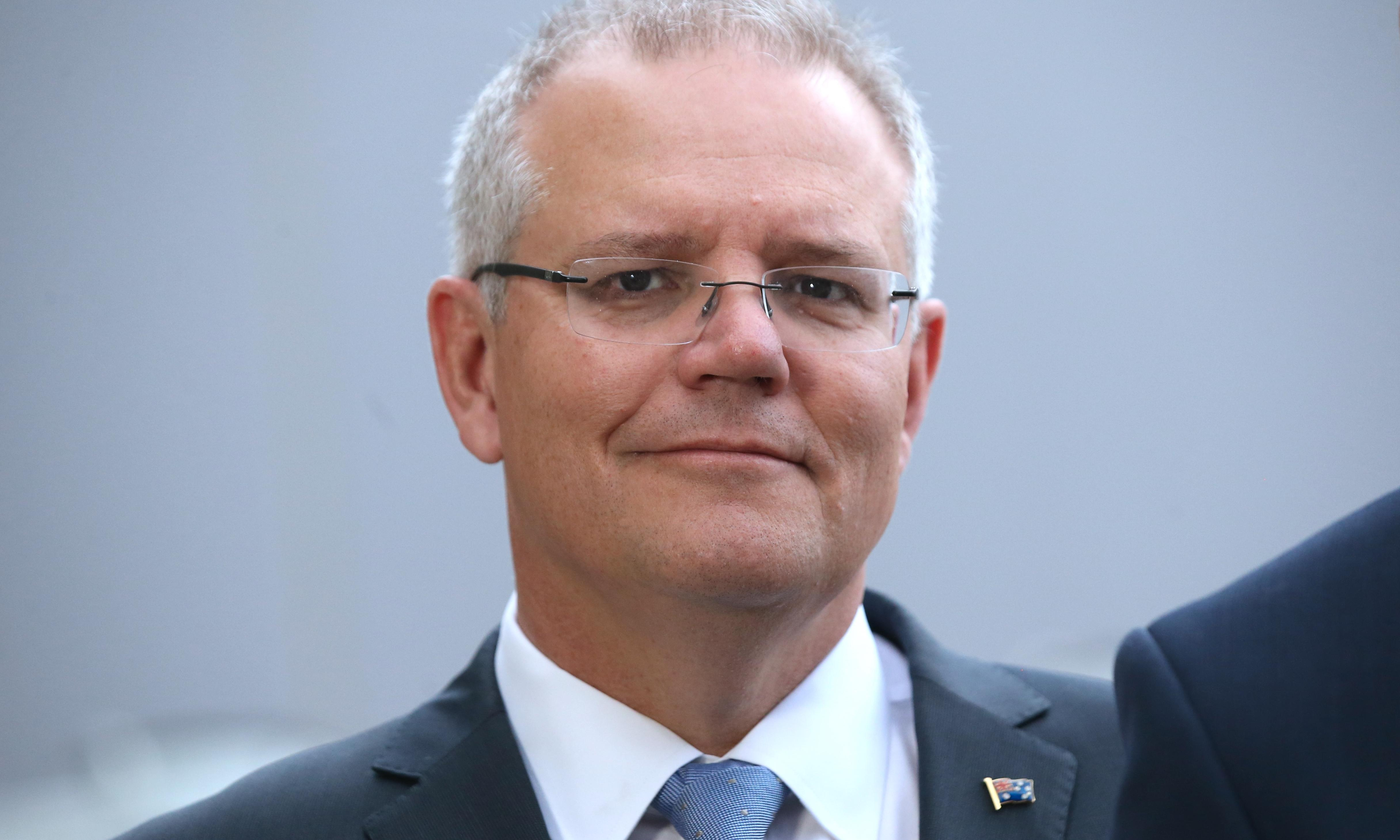 Scott Morrison has no choice. He's got to blast forward and hope for the best