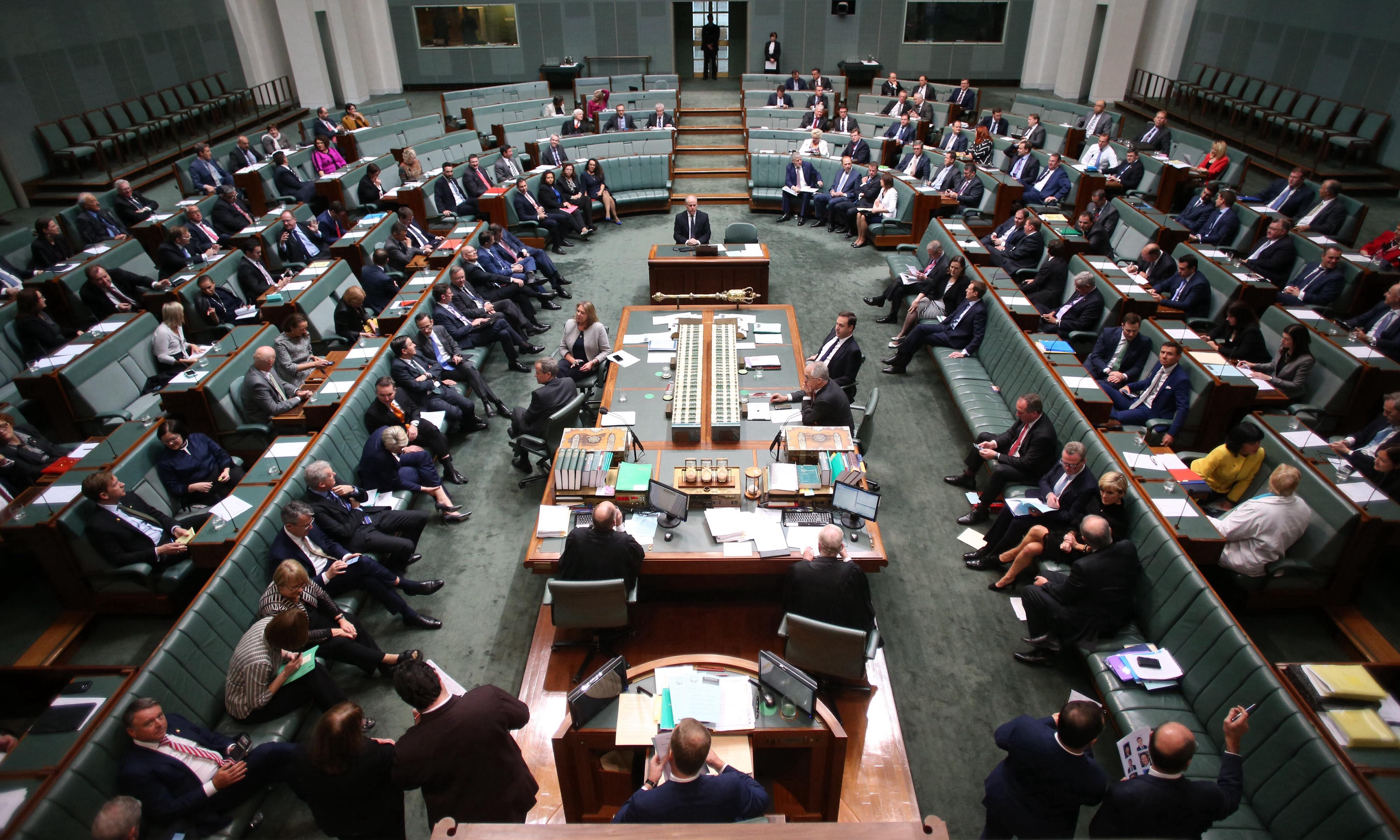 Australian politicians urge donations and spending caps – while putting boot into media