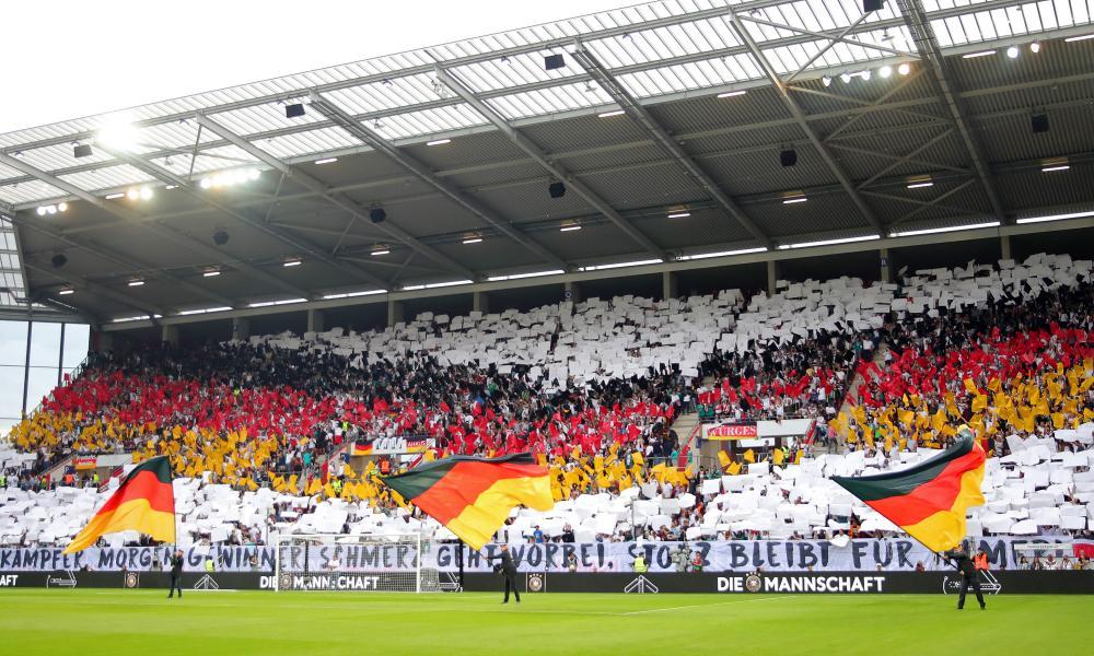 Germany v Estonia in Mainz