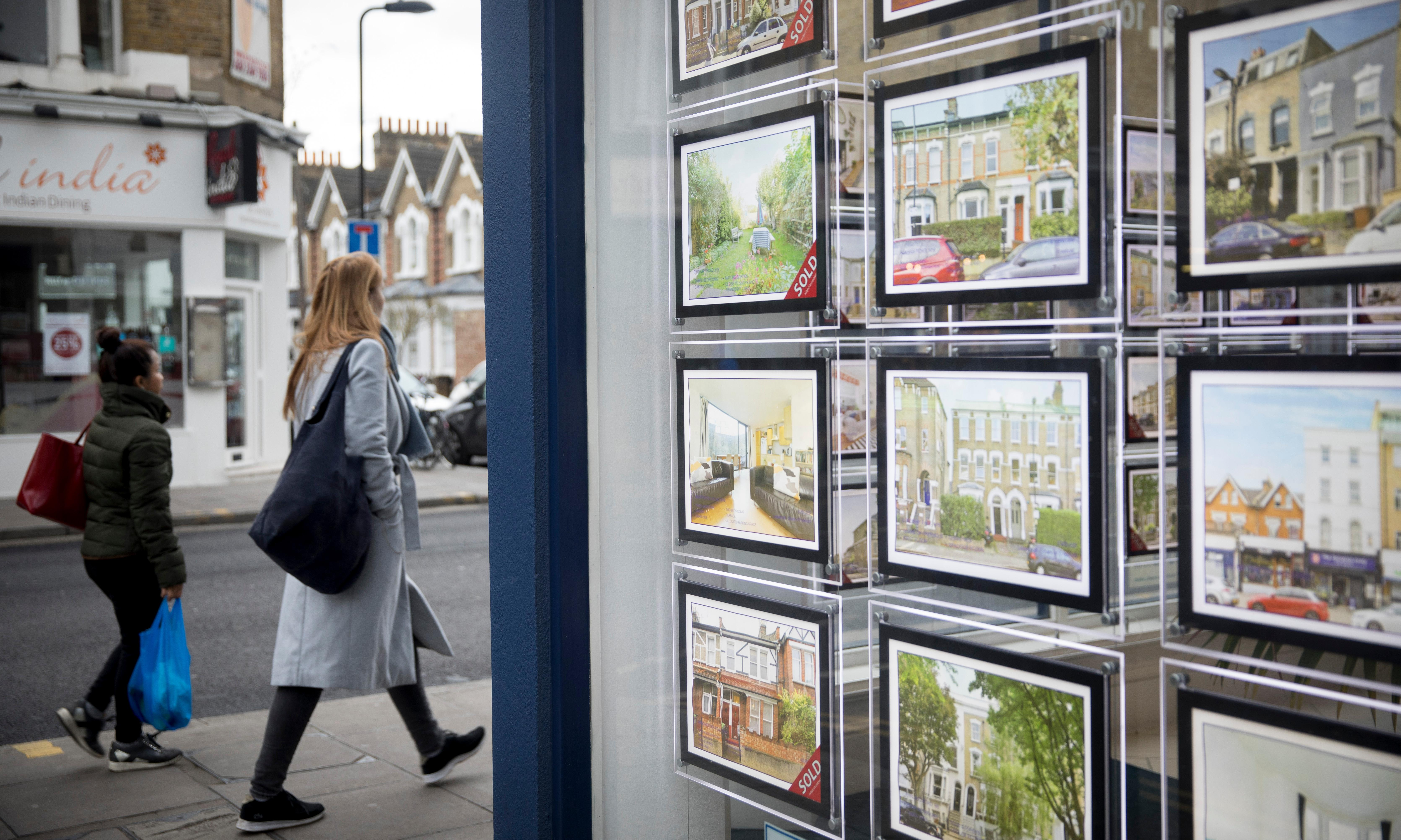 House price growth at six-year low and inflation rises to 1.9%