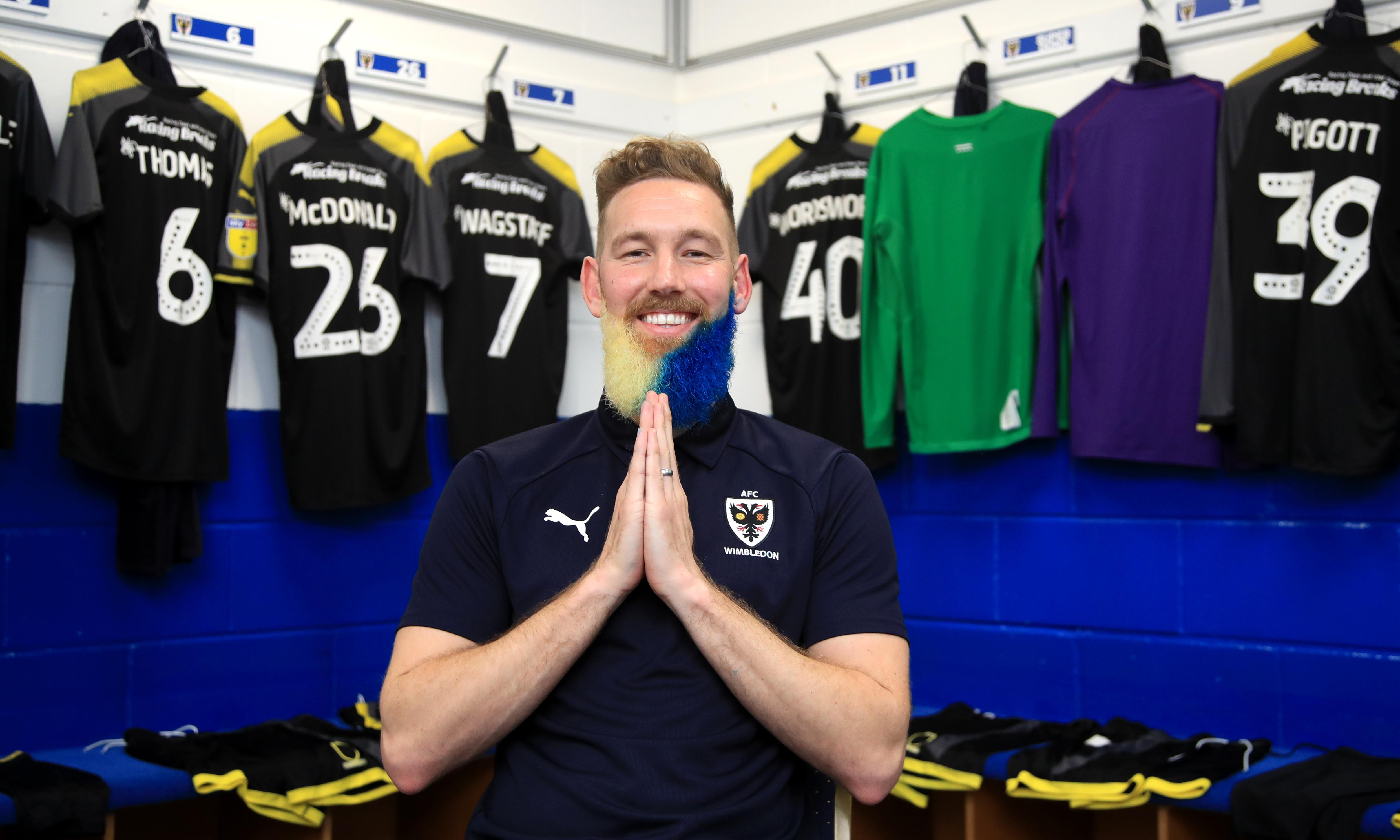 Dyed beards and lucky stones: Crazy Gang lives on at AFC Wimbledon
