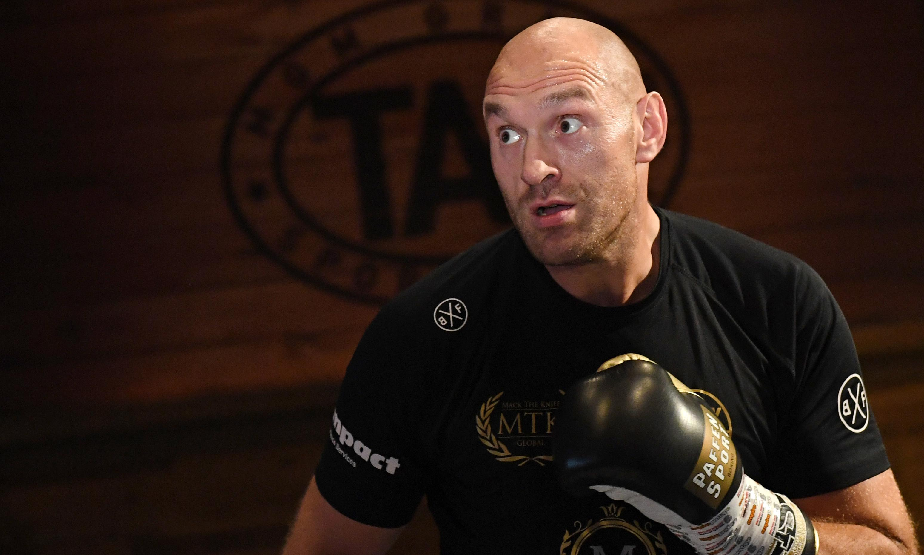 Tyson Fury to face Otto Wallin in Las Vegas before potential Wilder rematch