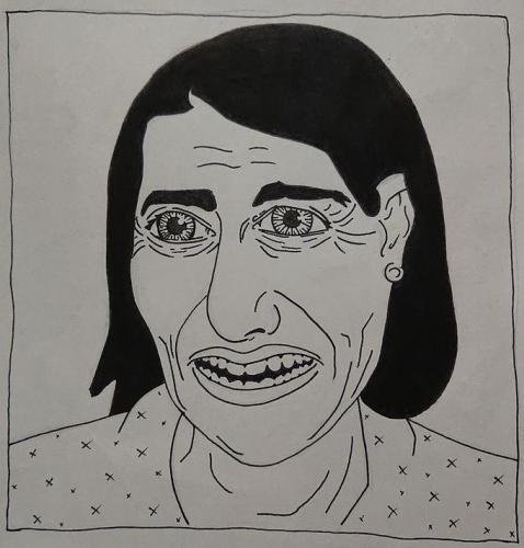 Gladys Berejiklian fan art by @_digglet.