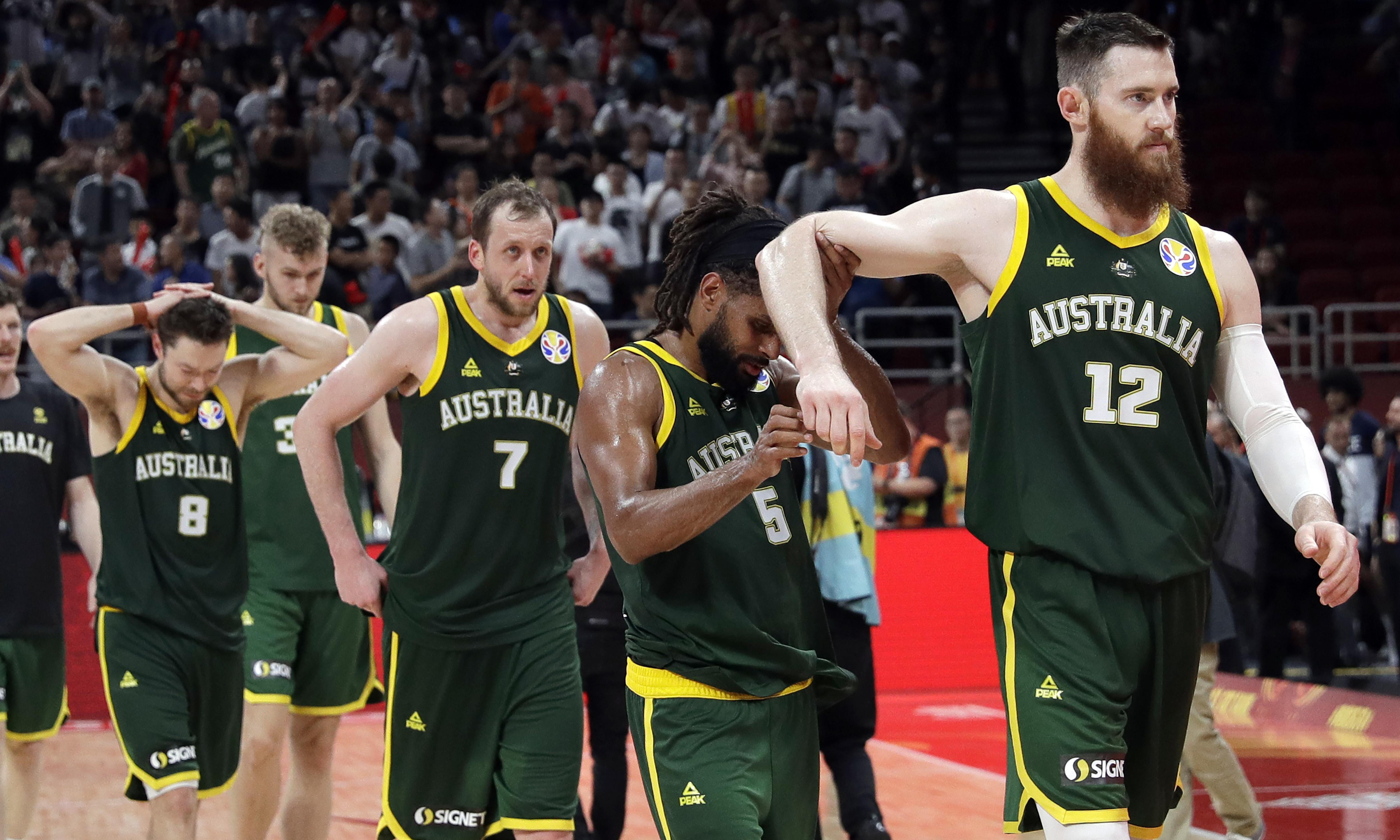Angry Boomers fall short at Basketball World Cup but historic medal still within reach