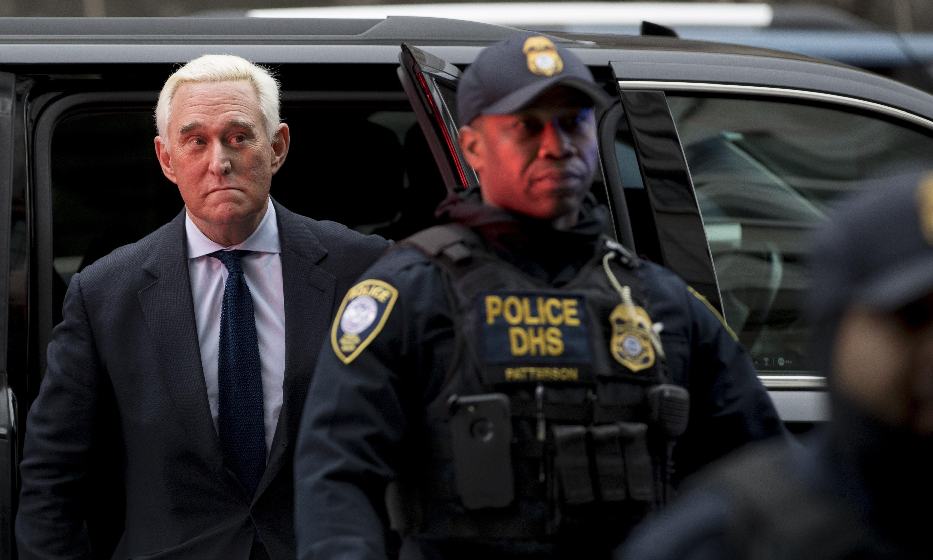 William Barr's efforts to protect Roger Stone are another blow to rule of law