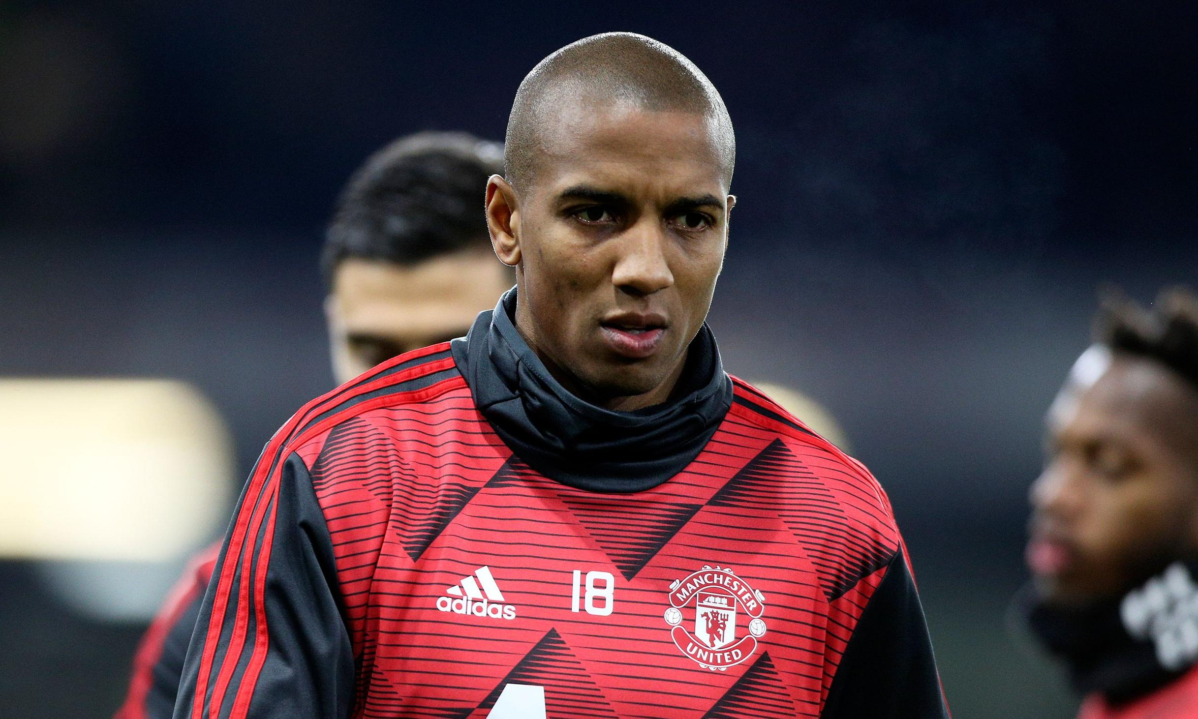 Inter agree £1.3m fee with Manchester United for full-back Ashley Young