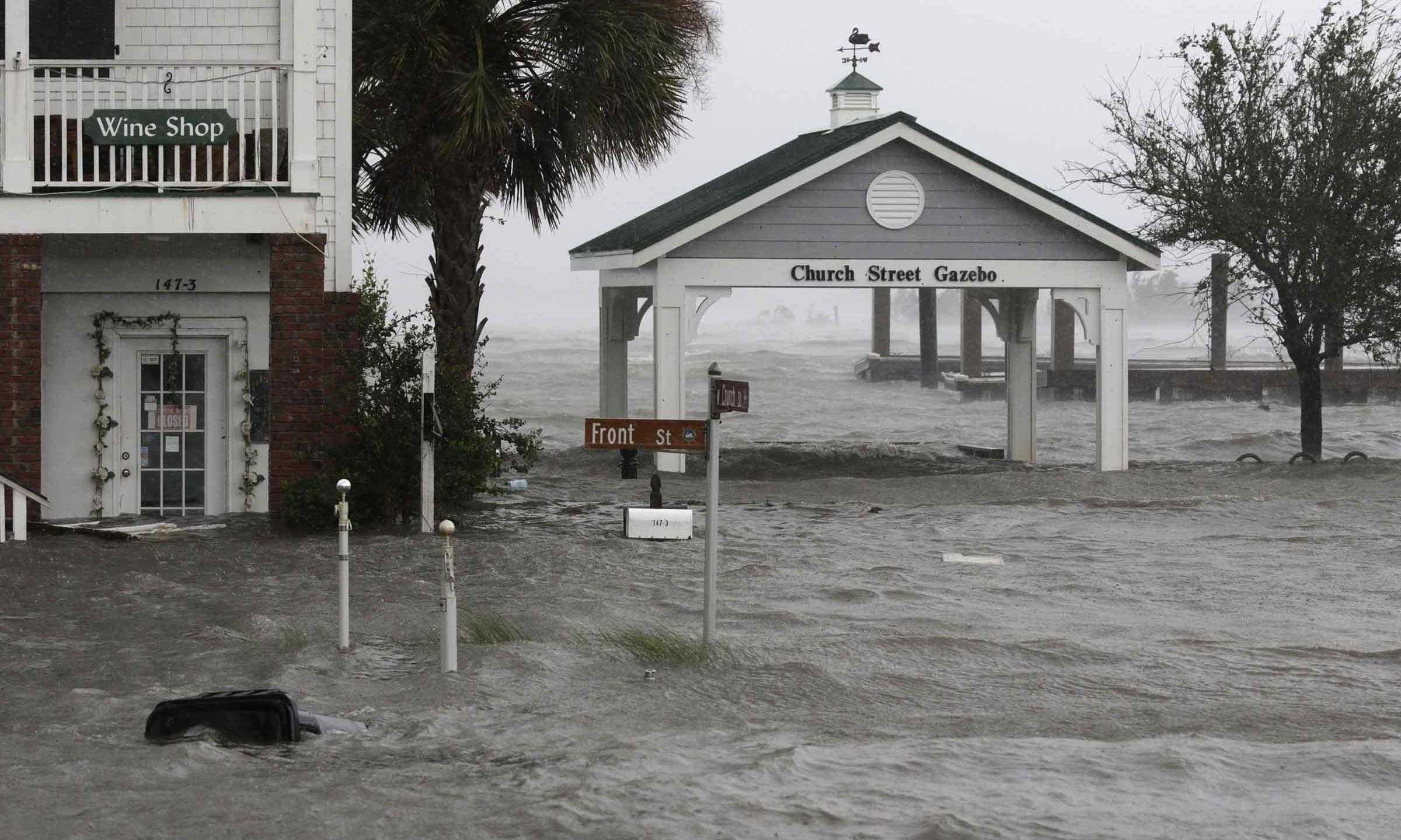 Hurricane Florence is a climate change triple threat