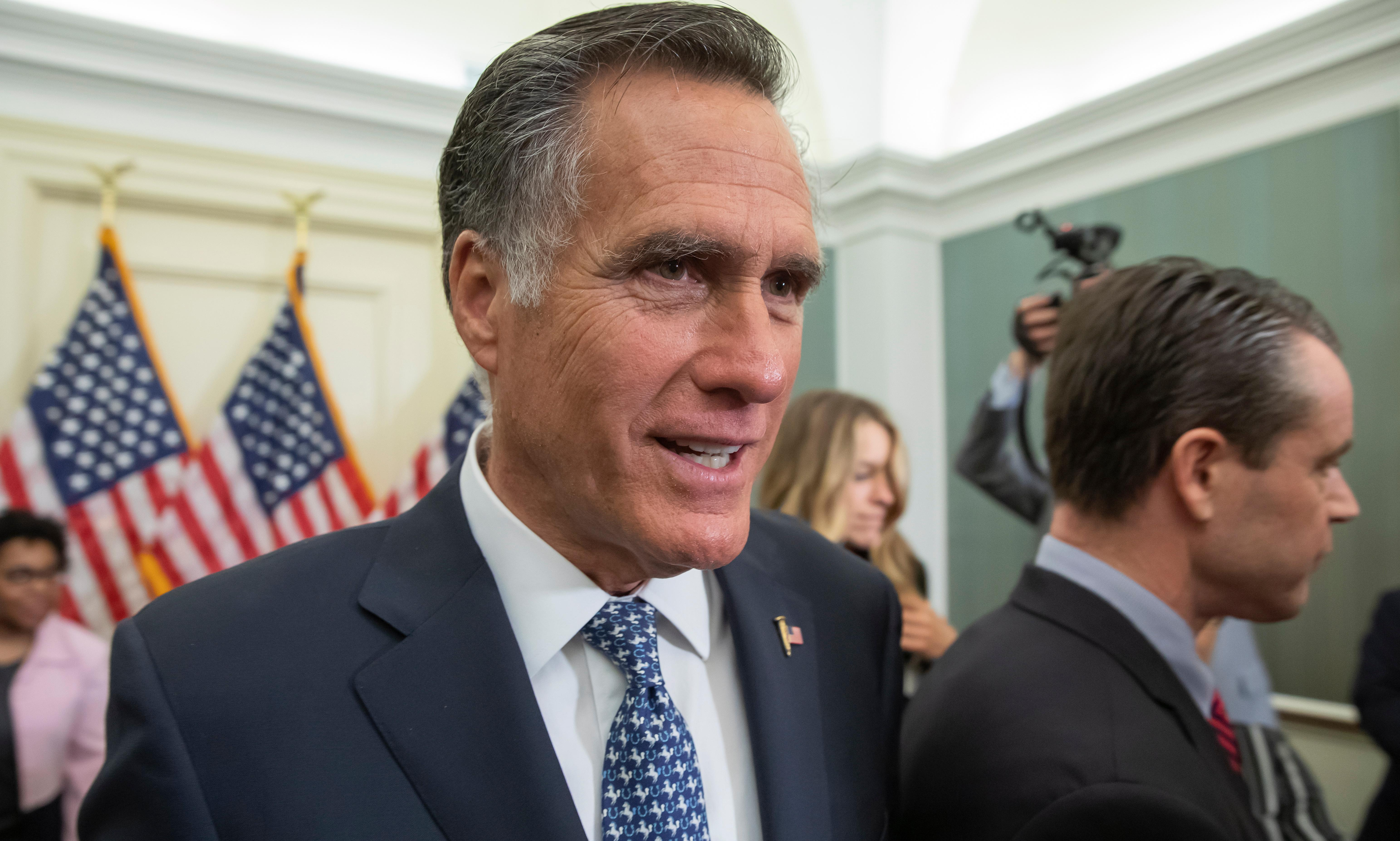 Iran war 'not going to happen' despite rising tensions, says Romney