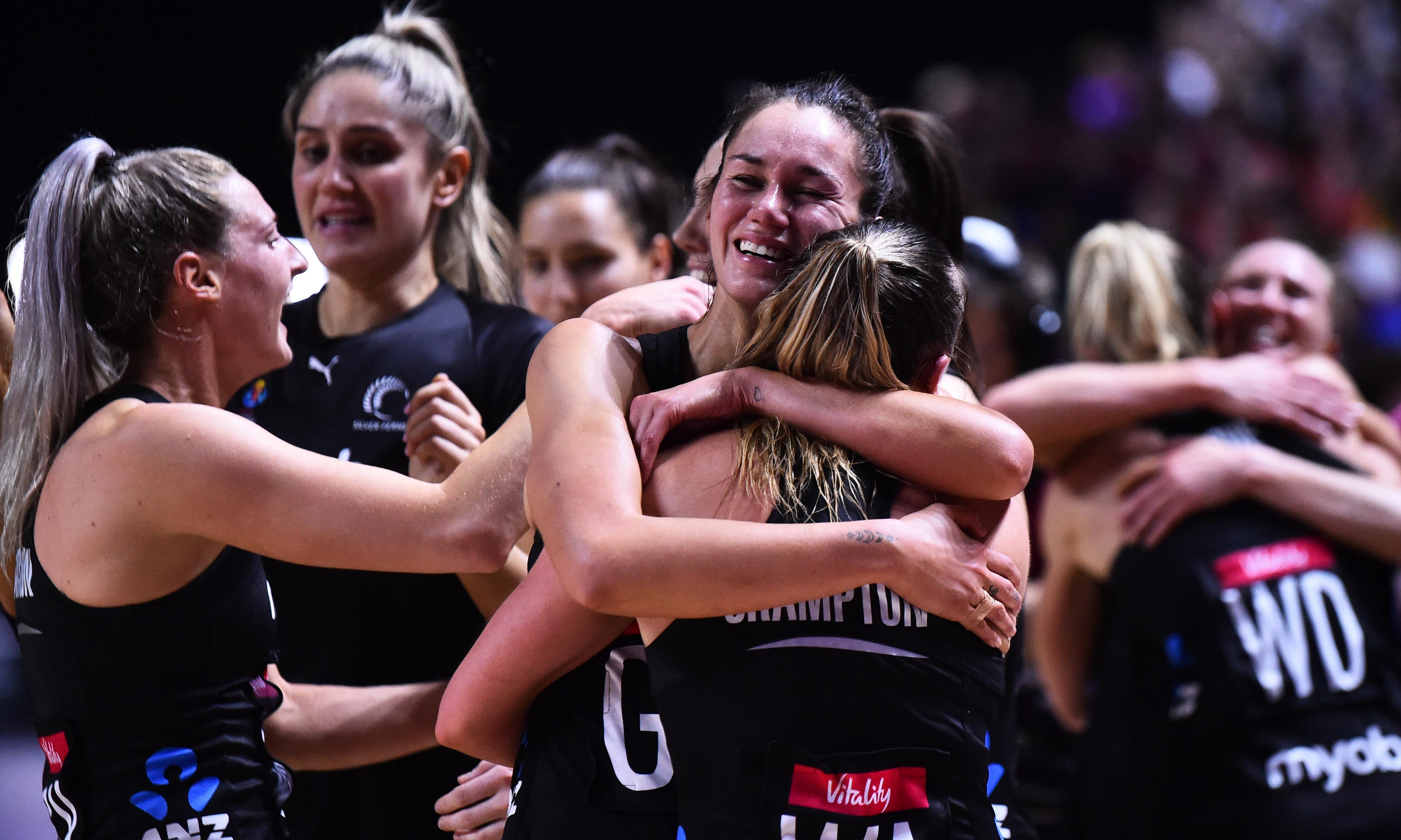 'Heals the wound': New Zealand Netball World Cup final win takes sting out of cricket loss