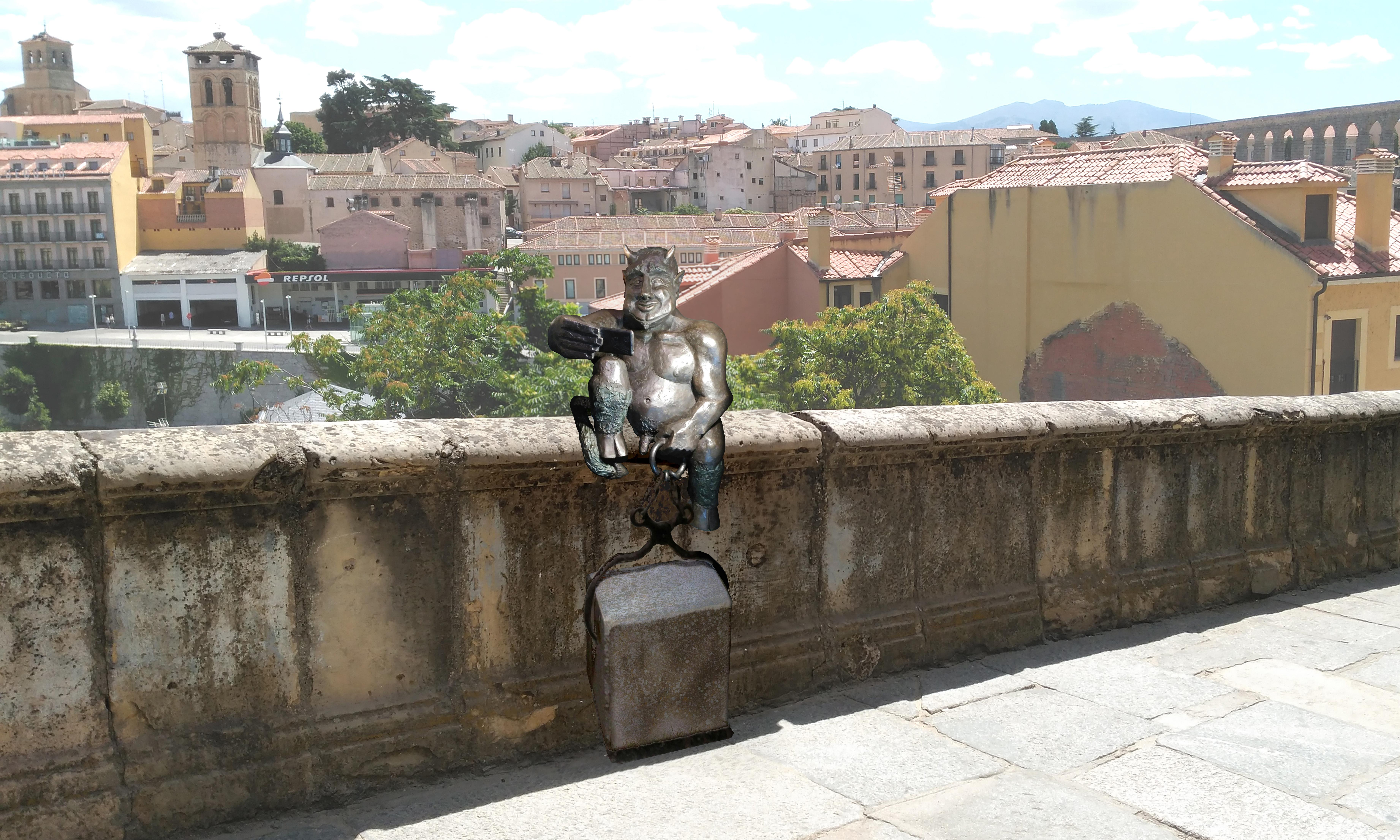 Diabolical liberty? Anger over Spanish city's 'friendly' devil