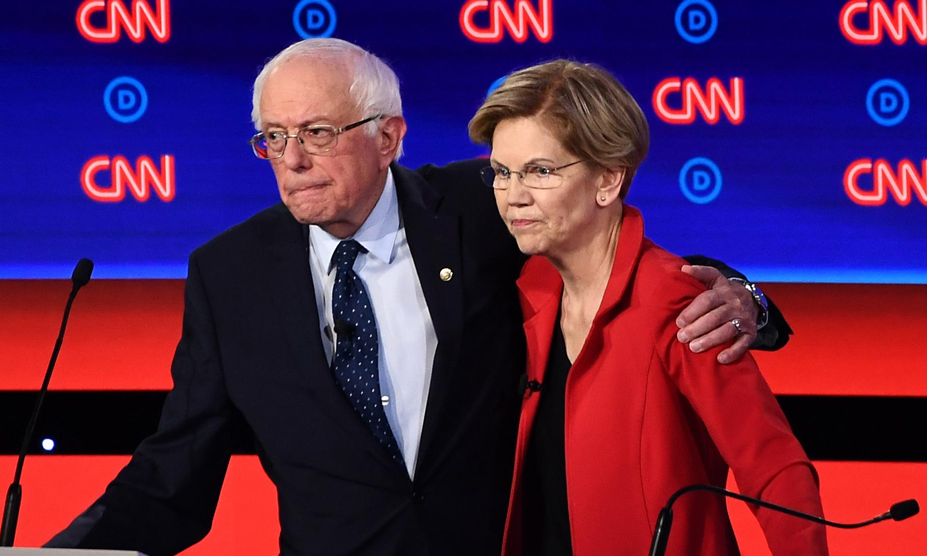 Tech workers favor Sanders and Warren as leftist duo outraise centrist rivals