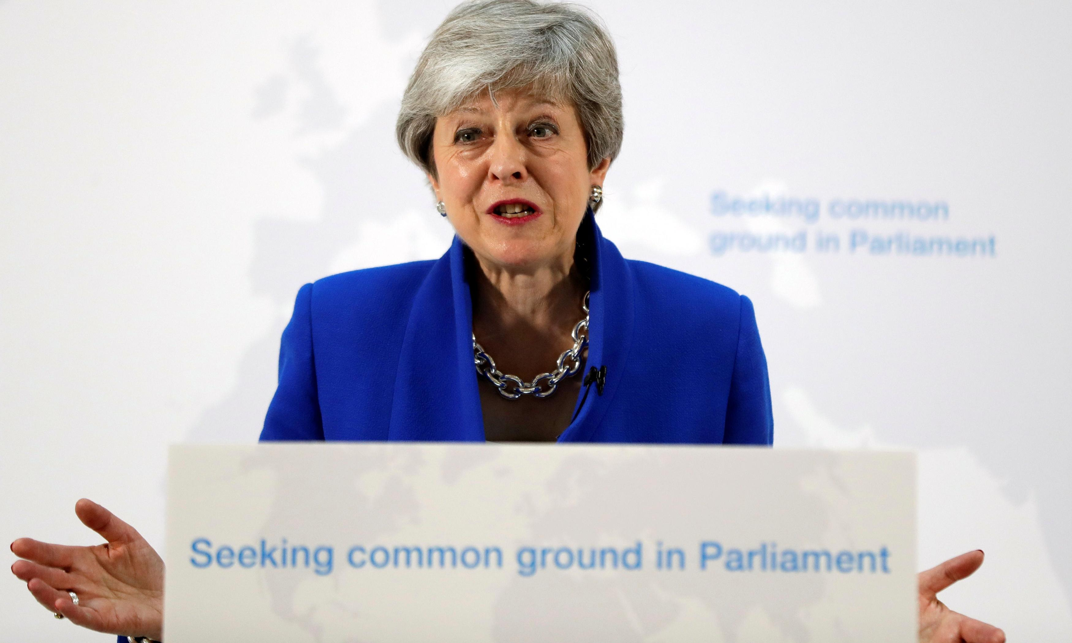 Brexit is a sham, but Theresa May just won't admit it