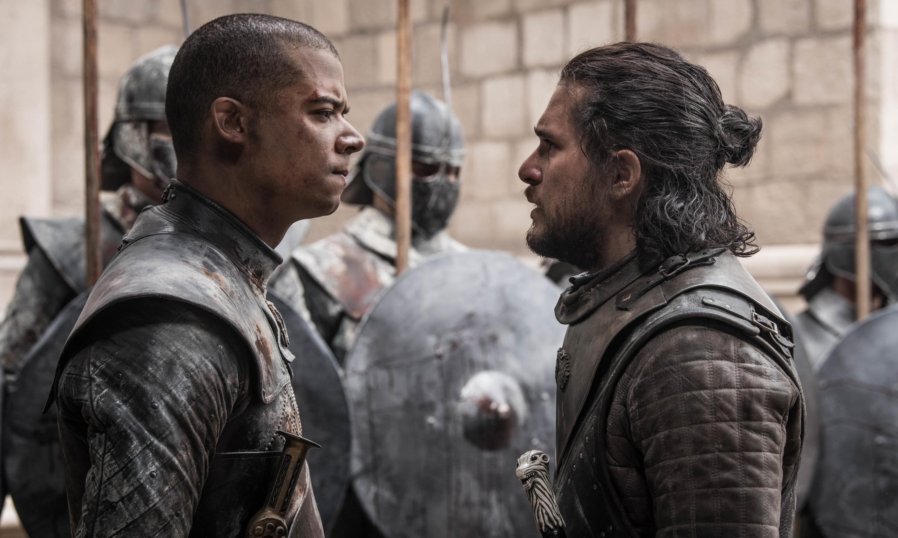 Game of Thrones review – epic final episode corrects some major wrongs