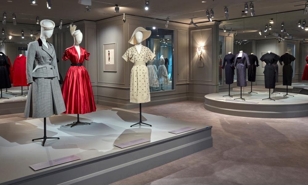 Christian Dior's early gowns on display in the NGV House of Dior: 70 years of haute couture exhibition