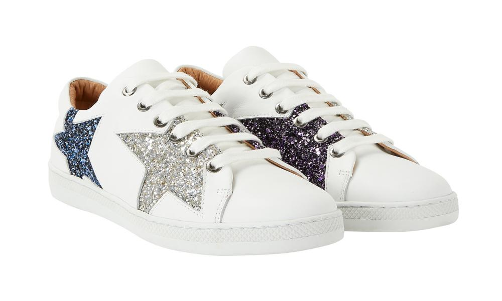 And/Or Edie star trainers, £85