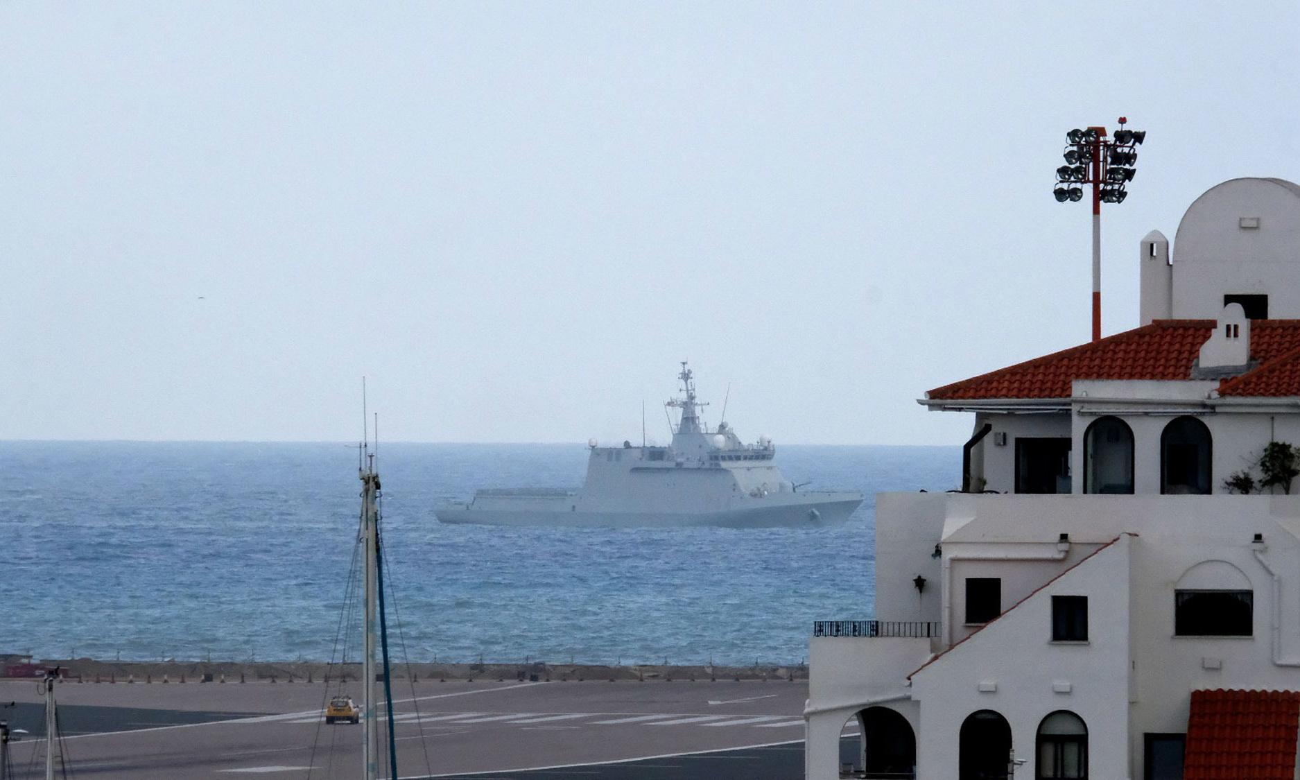 Spanish warship orders Gibraltar boats to leave British waters