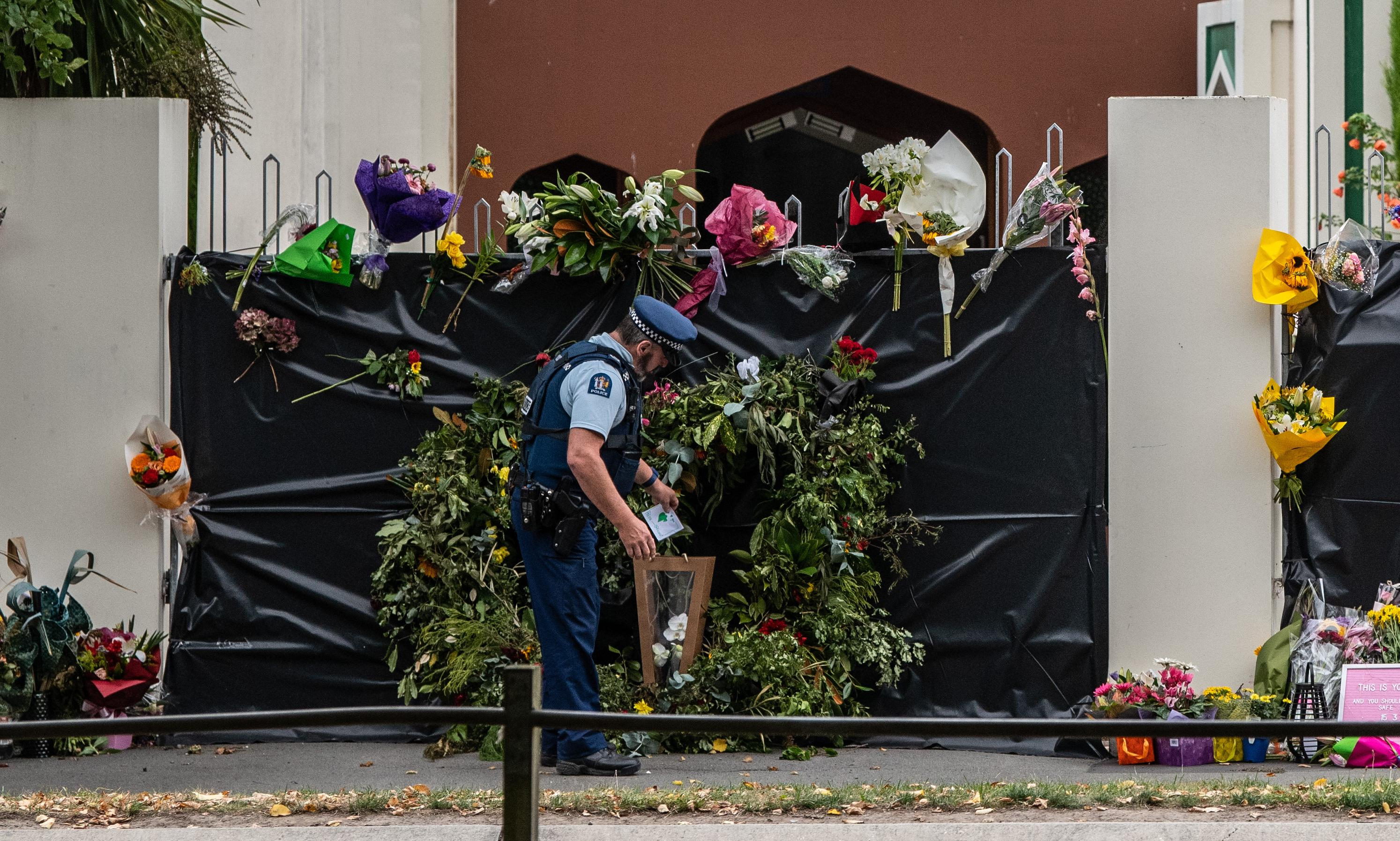 Christchurch shooting: thousands to attend prayers as mosque prepares to reopen