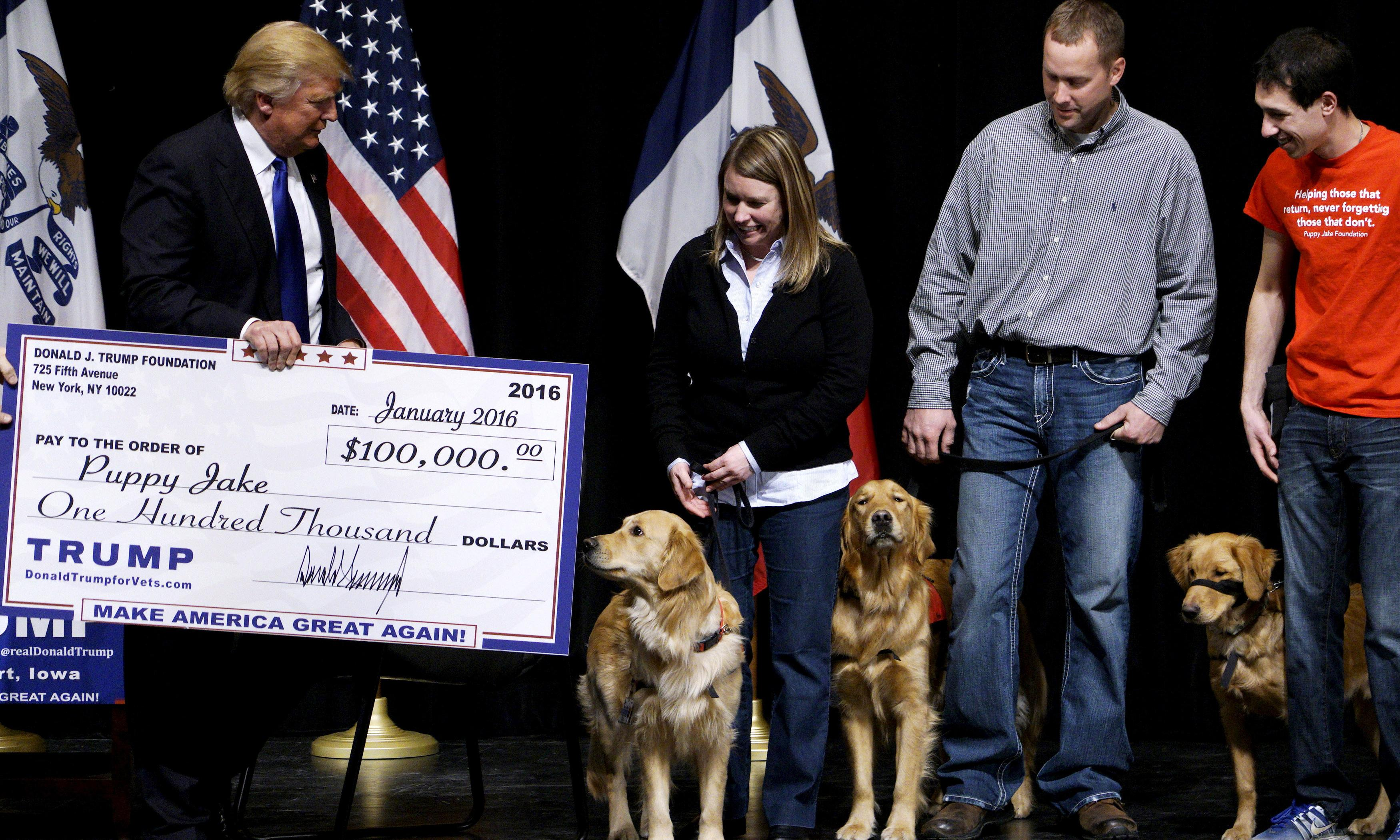 Trump Foundation to shut down after lawsuit exposes 'pattern of illegality'