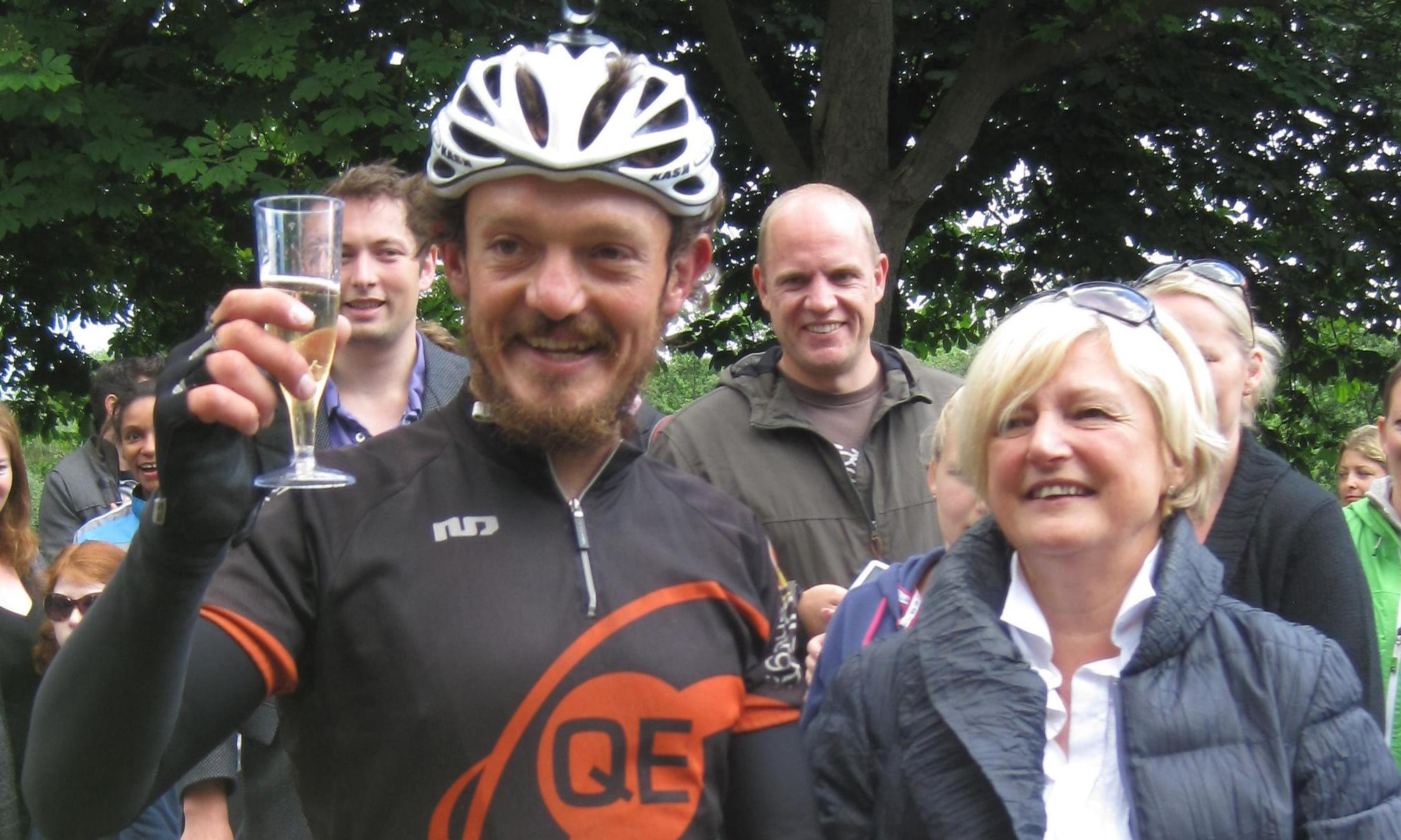 Mike Hall: British ultra-distance cyclist killed during race in Australia