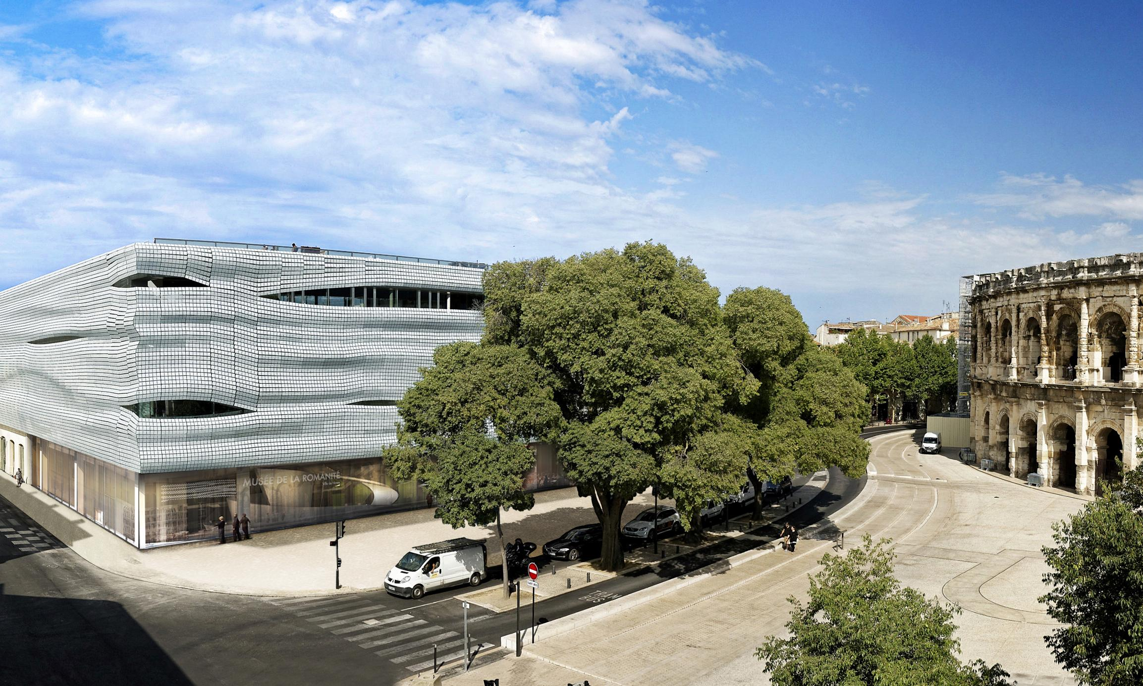 Nîmes' stunning new Roman museum dazzles in a glass 'toga'