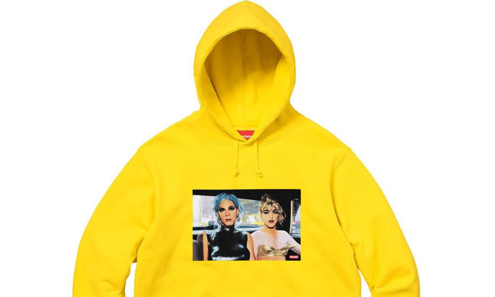 Nan Goldin hoodie … made by Supreme.