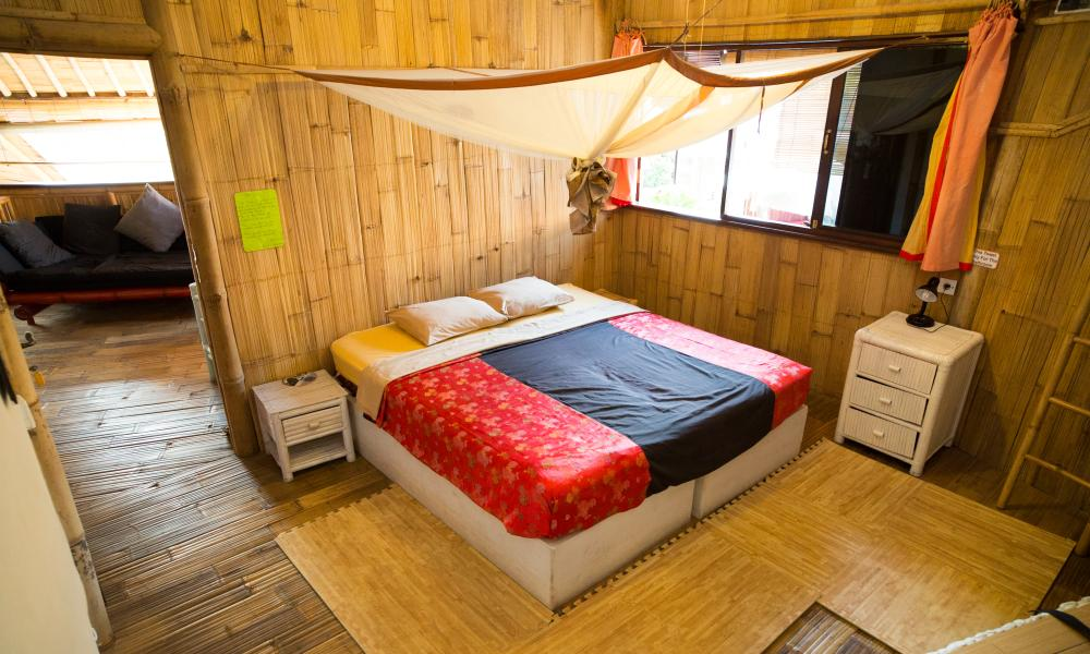 Bamboo double at Serenity Eco Guesthouse, Canggu