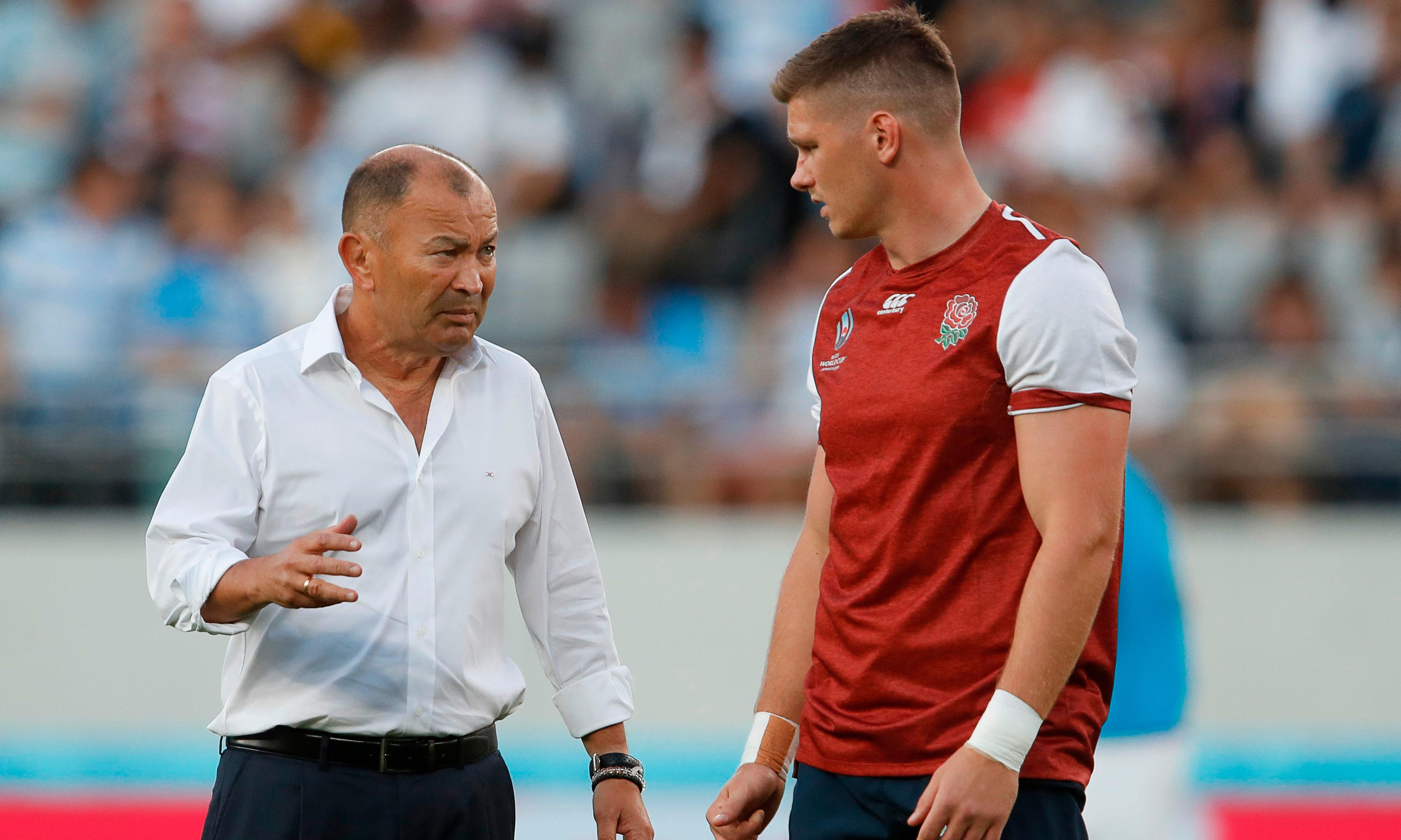 Eddie Jones playing the straight man with England still to come to boil