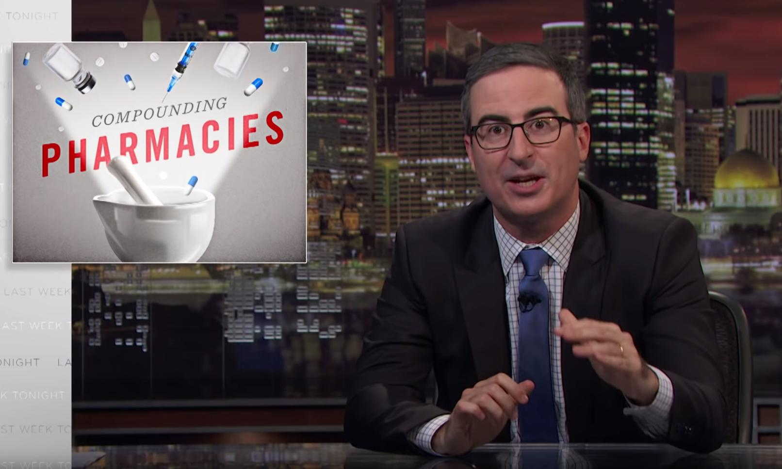 'Wild west of the drug industry': John Oliver takes on compounding pharmacies