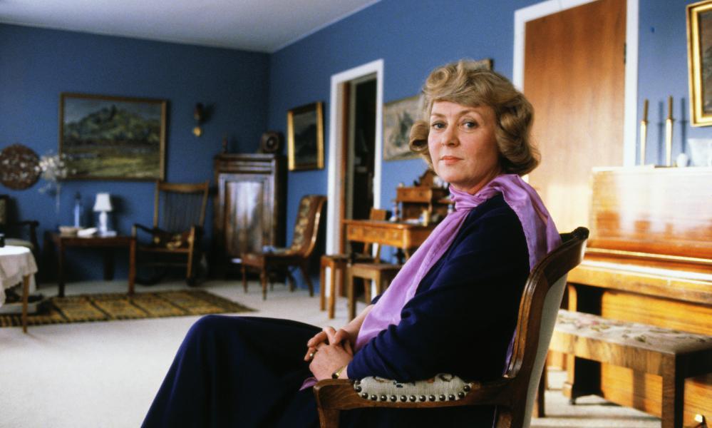 Vigdís Finnbogadóttir in 1980, when she was elected president of Iceland.