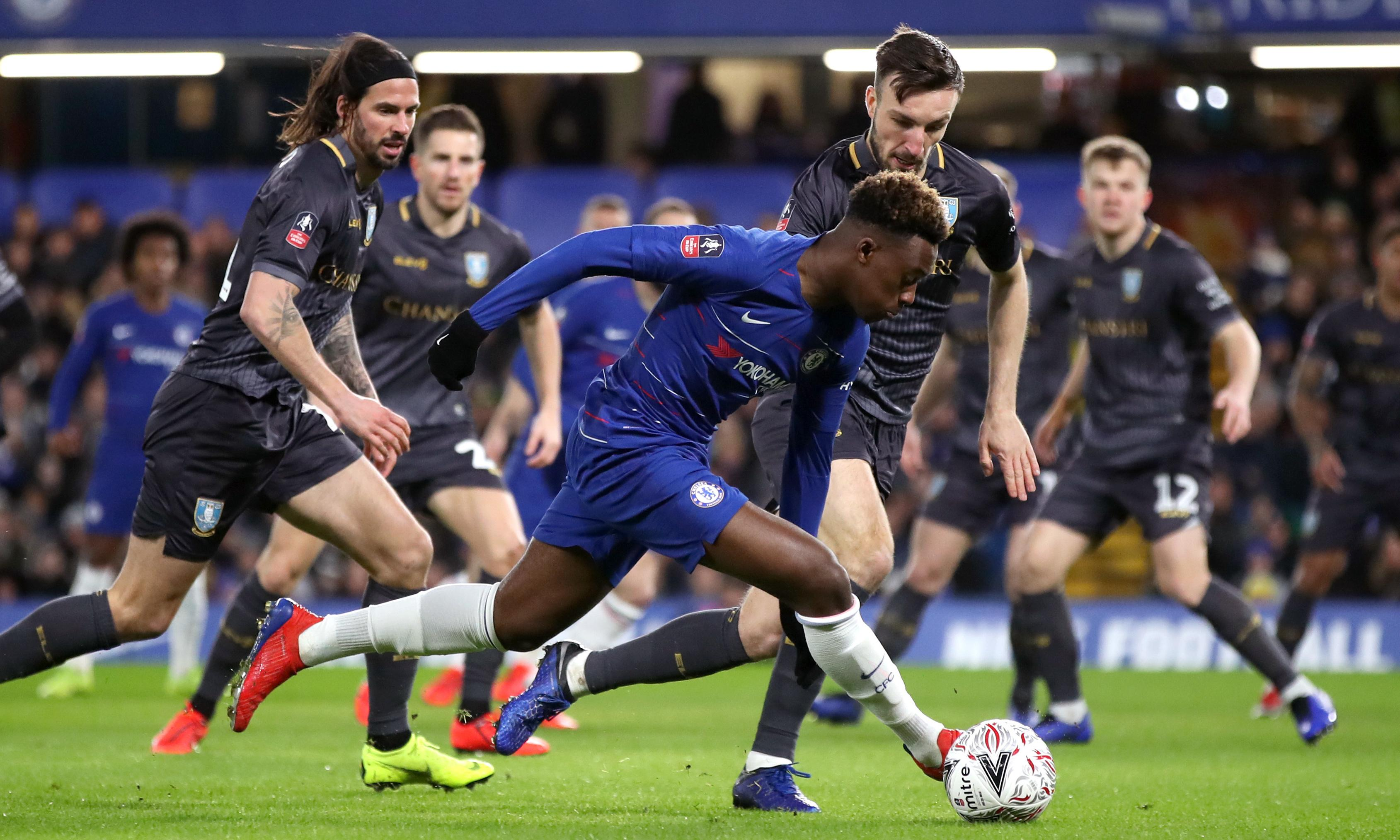 Chelsea's Callum Hudson-Odoi told to stay patient despite lack of game-time