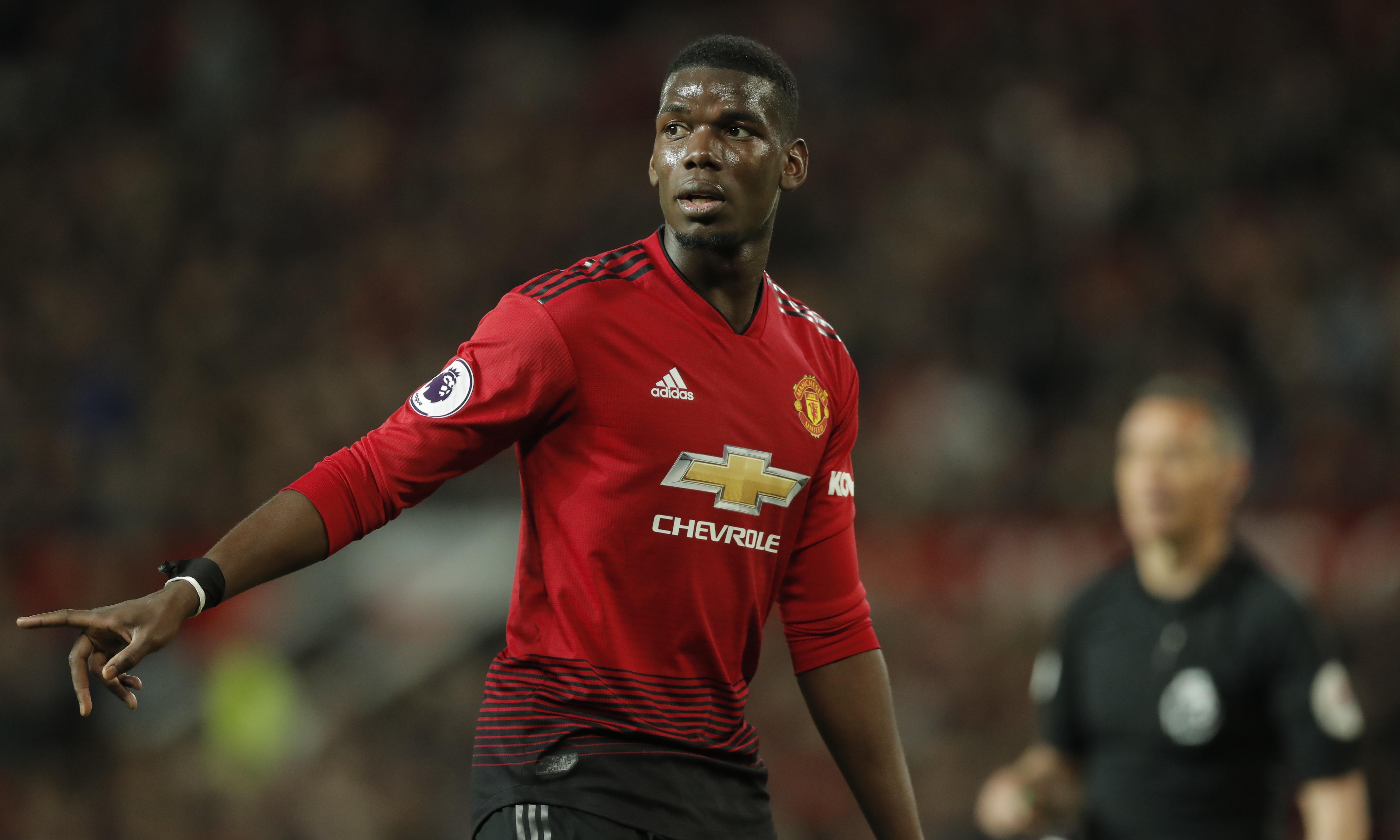 Paul Pogba arrives for Manchester United tour despite doubts over future