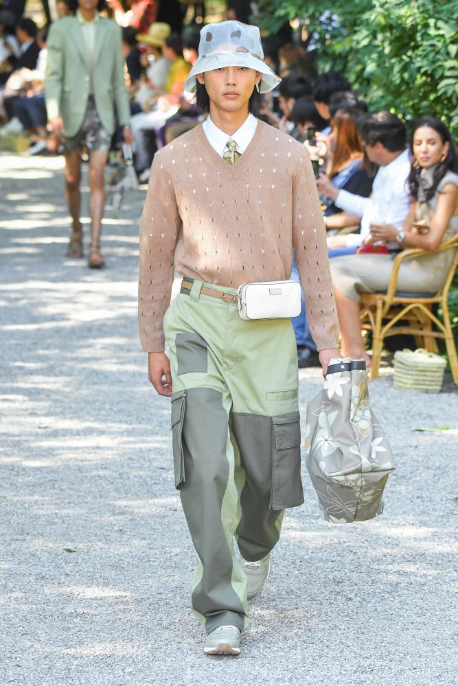 Milan men's fashion week spring/summer 2020.