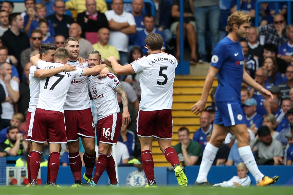 Vokes celebrates with teammates.