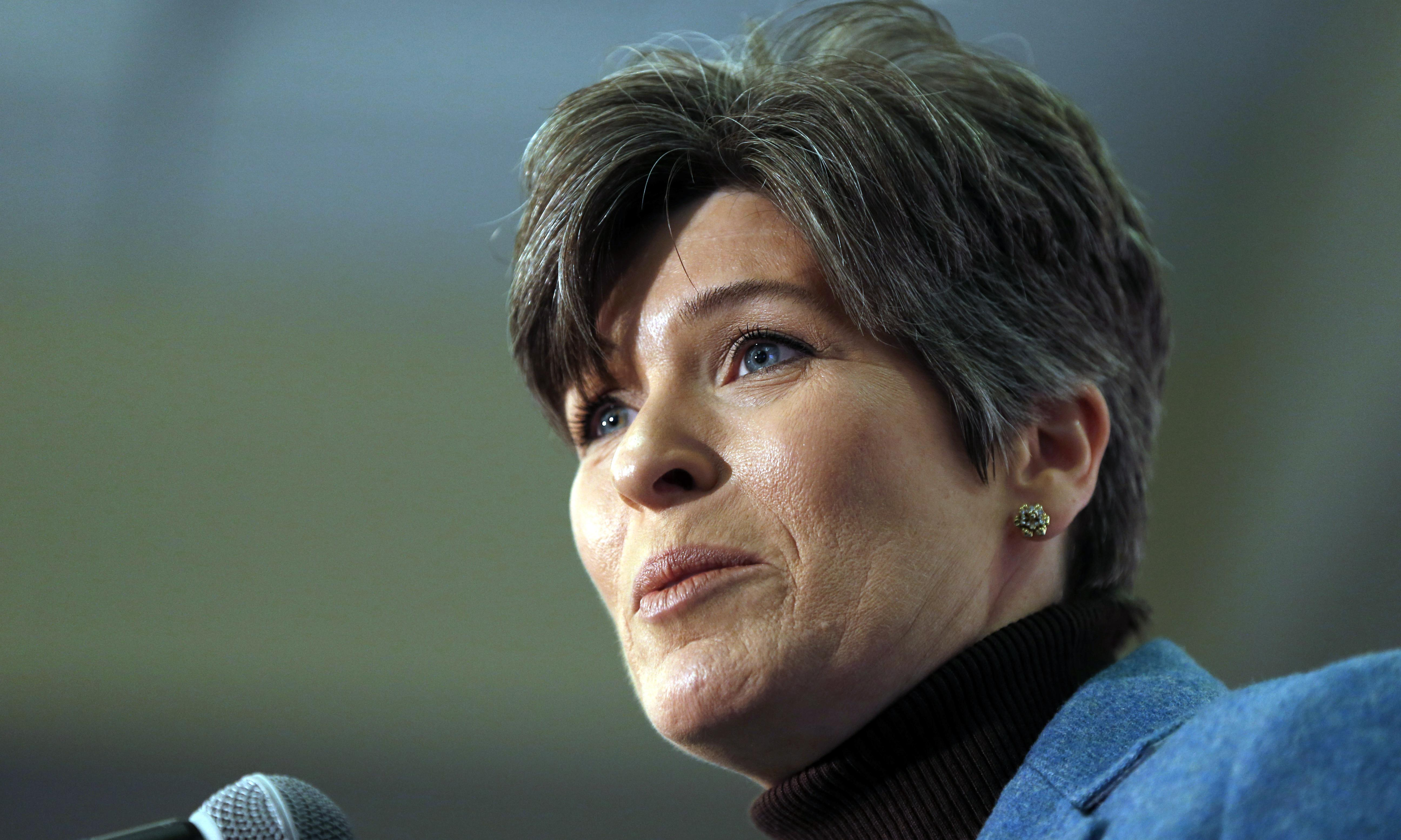 Joni Ernst says she turned down chance to be Donald Trump's vice-president