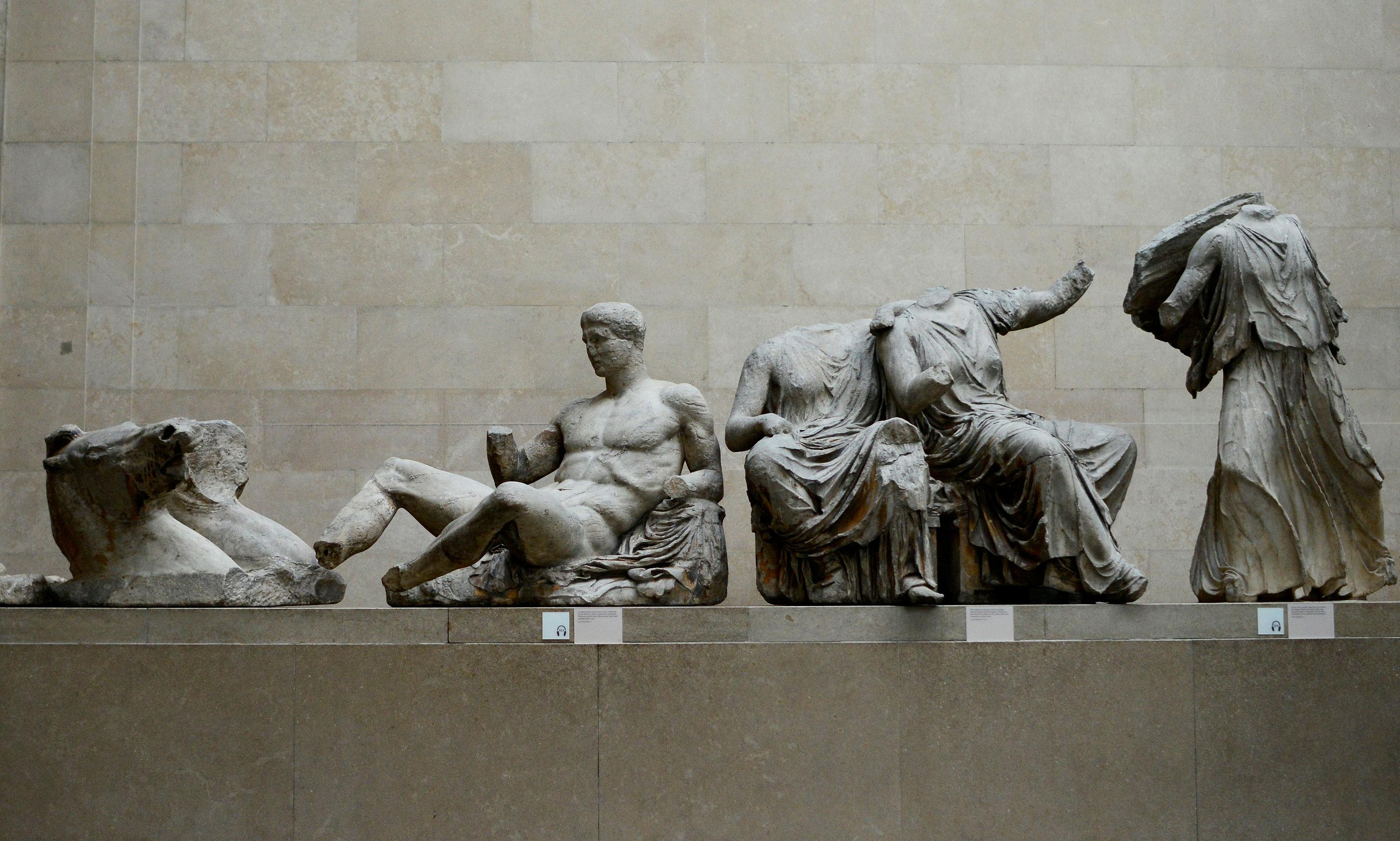 Elgin's casts of Parthenon marbles reveal details since lost from statues