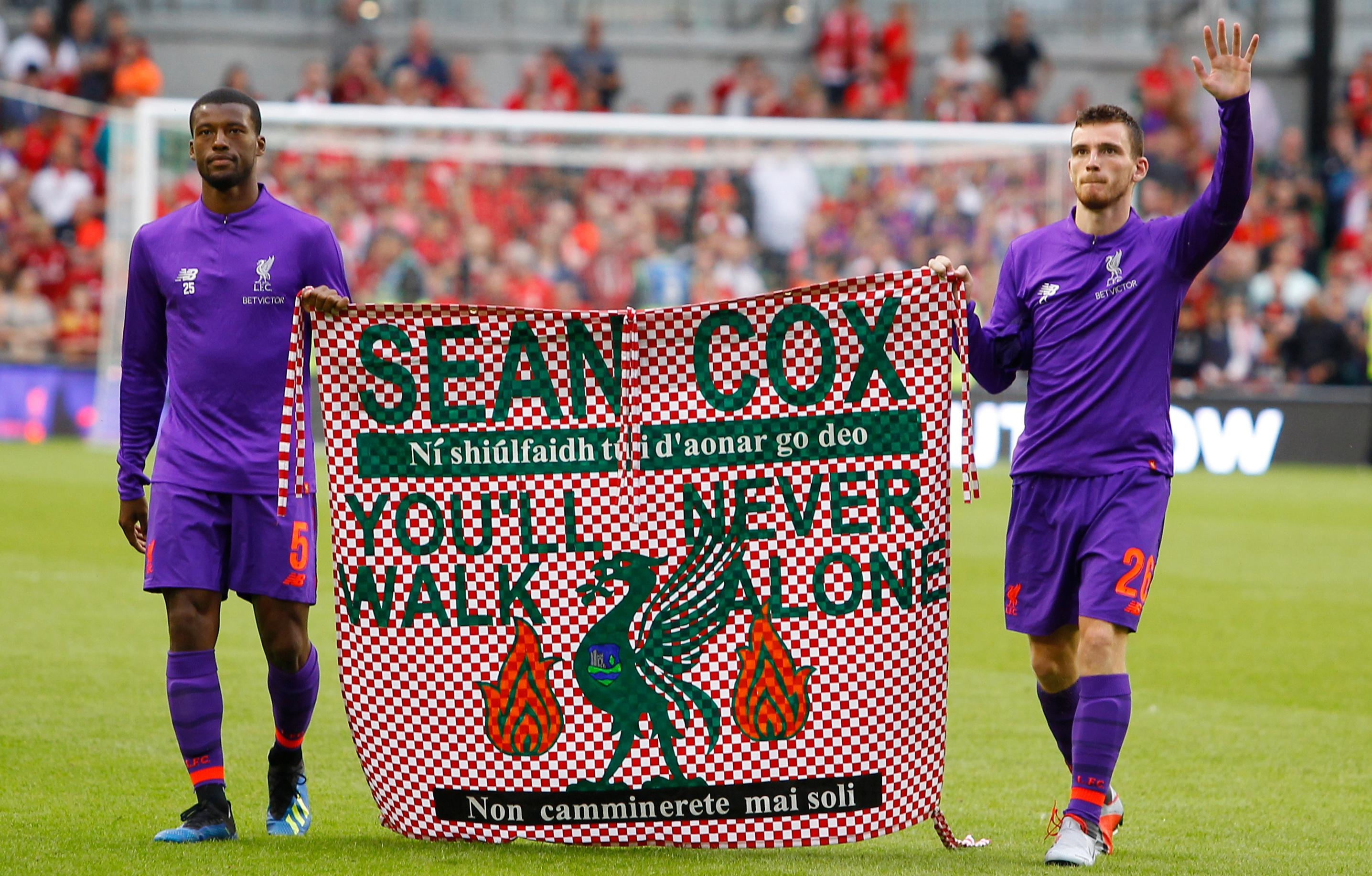 Sean Cox's brother criticises Manchester City over celebratory flight song